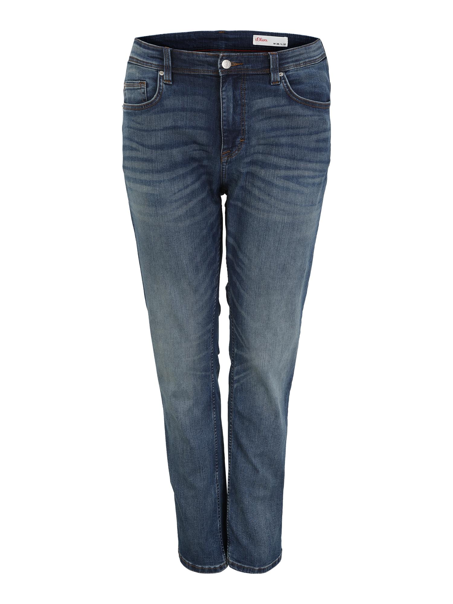 s.Oliver Red Label Big & Tall Džinsai tamsiai (džinso) mėlyna
