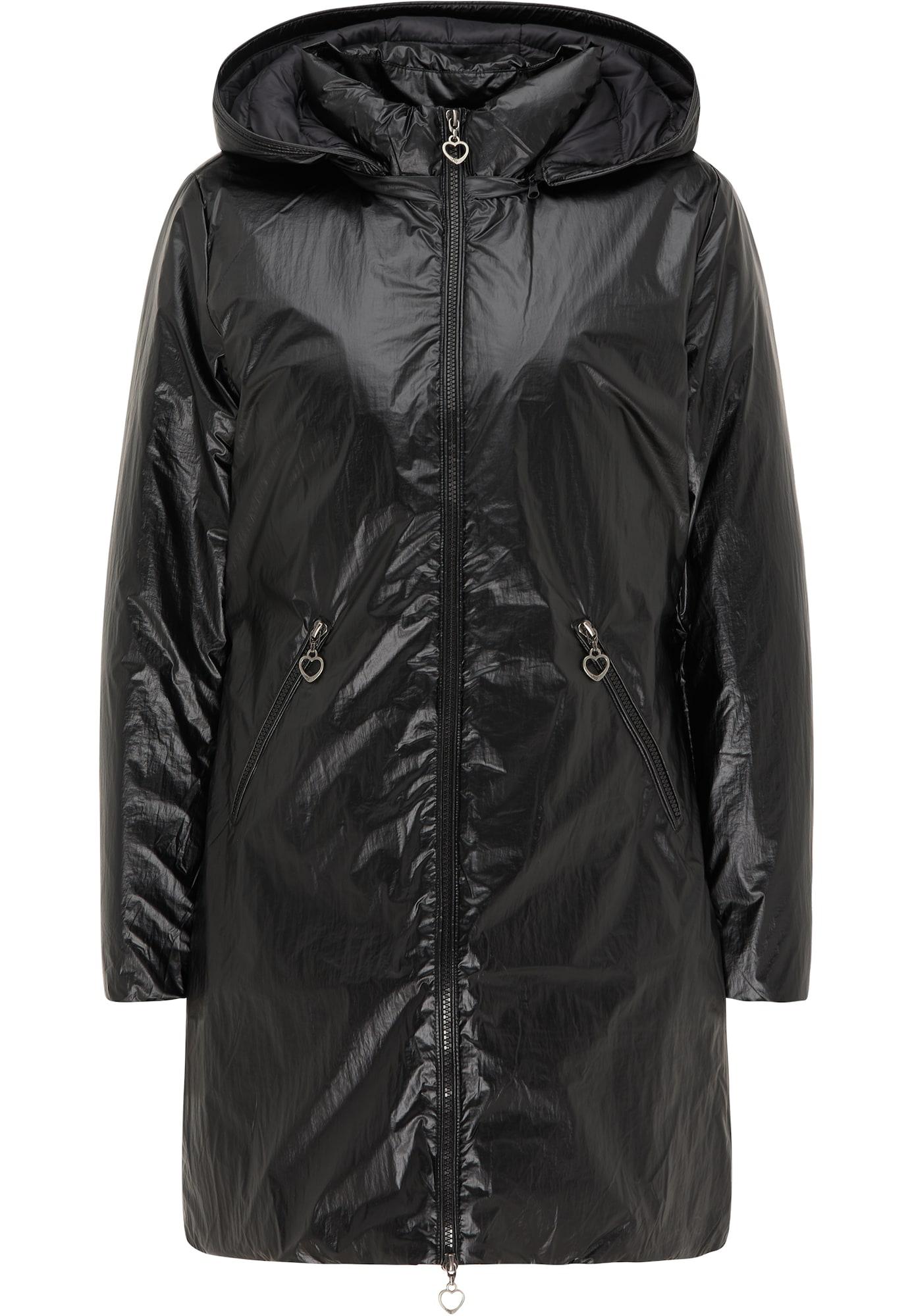 MYMO Žieminis paltas juoda