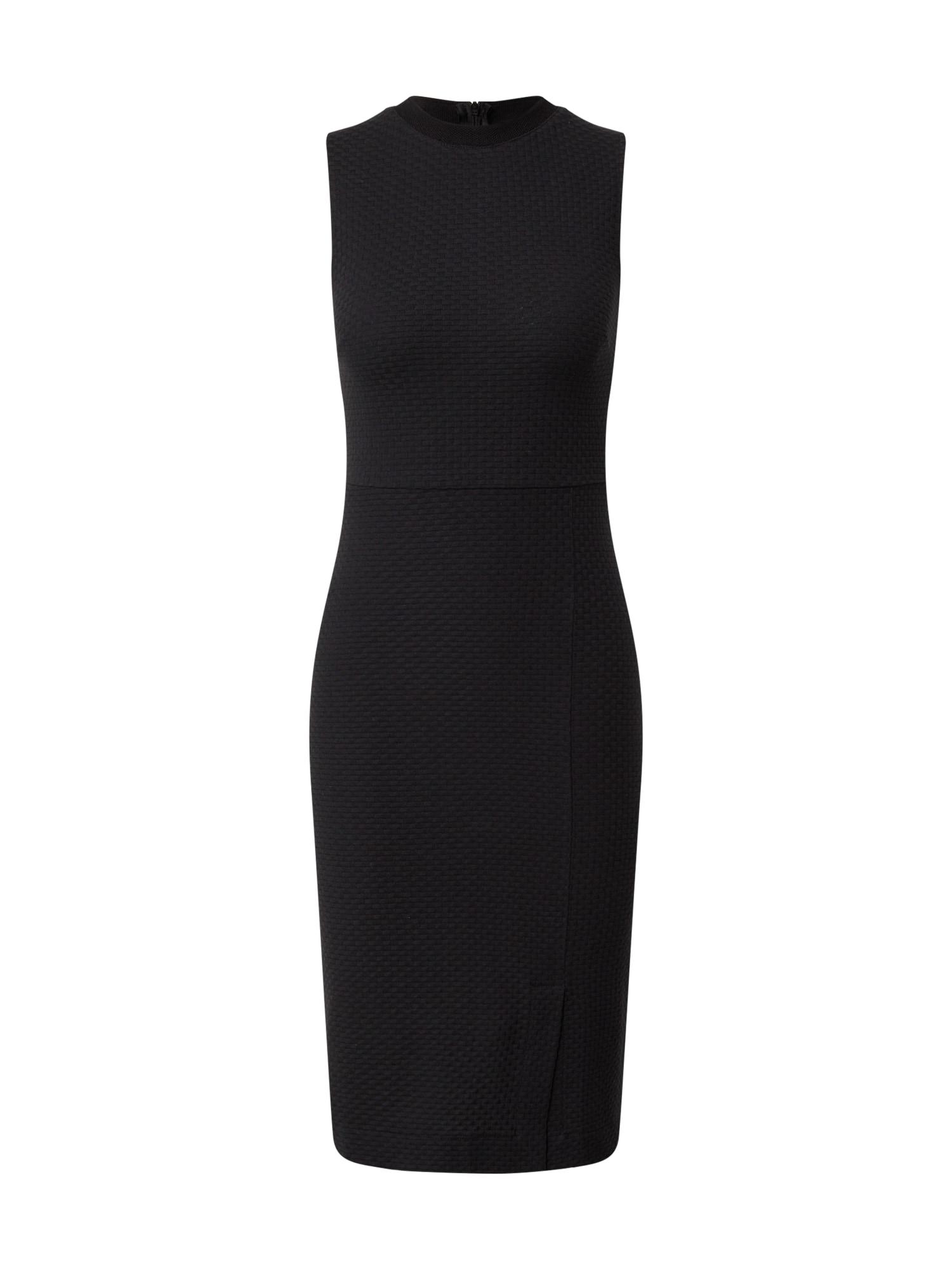 Guido Maria Kretschmer Collection Trumpa kokteilinė suknelė 'Cleo' juoda