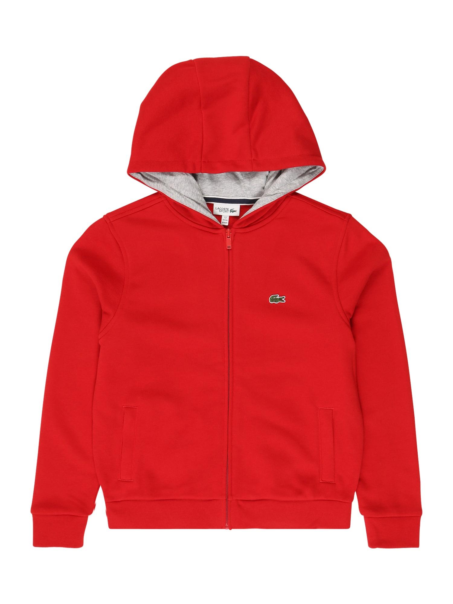LACOSTE Džemperis raudona