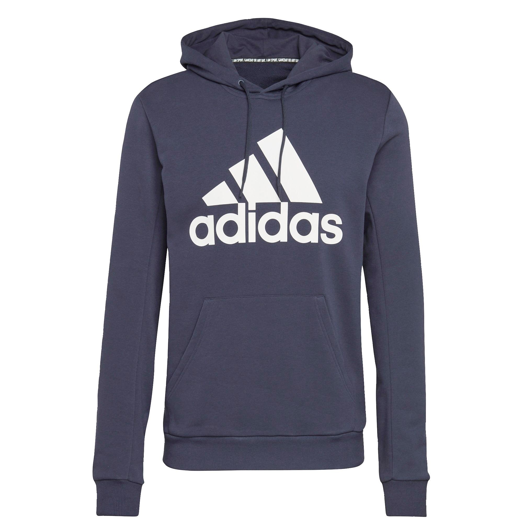 ADIDAS PERFORMANCE Sportinio tipo megztinis balta / tamsiai mėlyna / tamsiai mėlyna