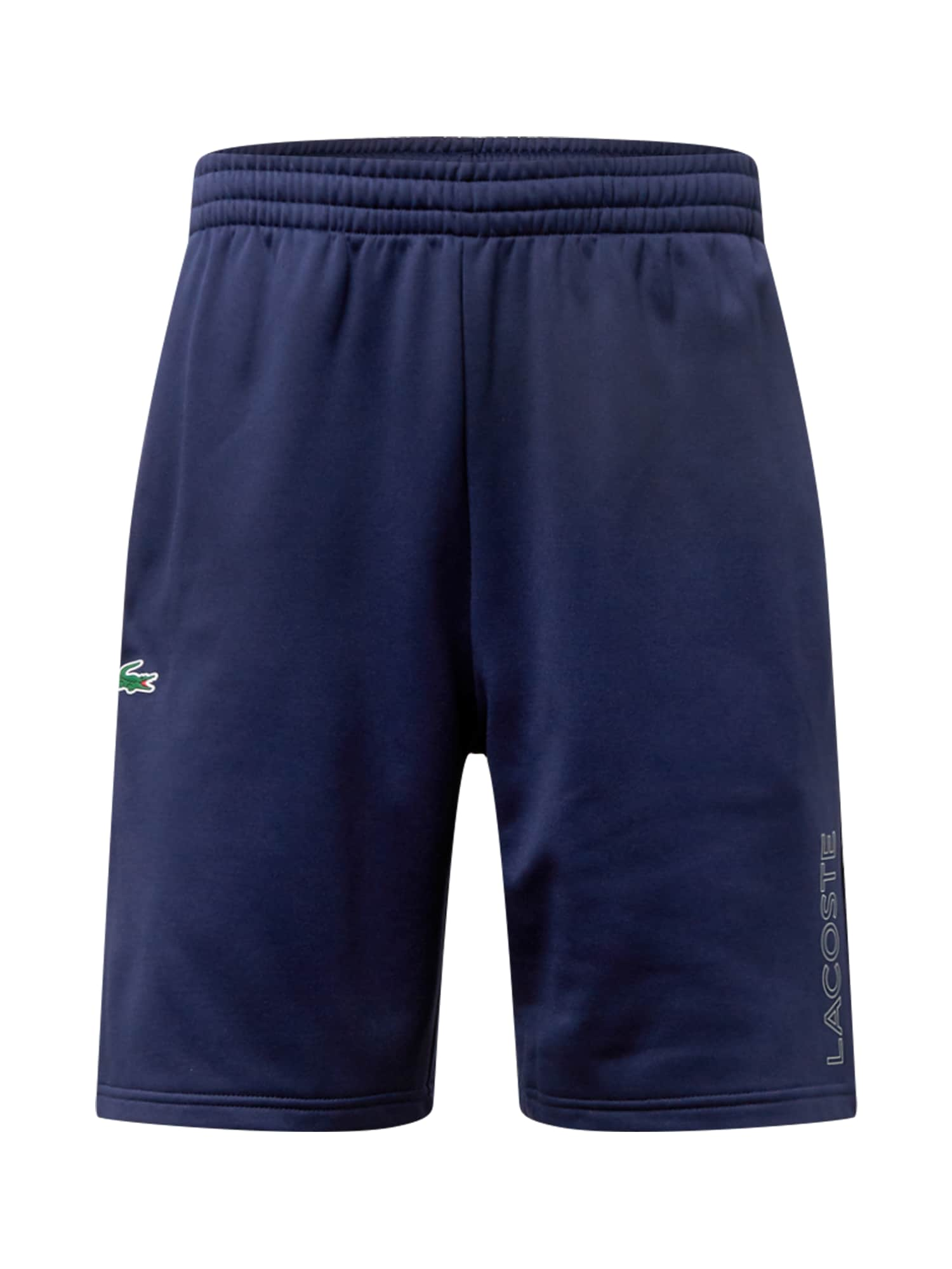Lacoste Sport Sportinės kelnės tamsiai mėlyna / balta