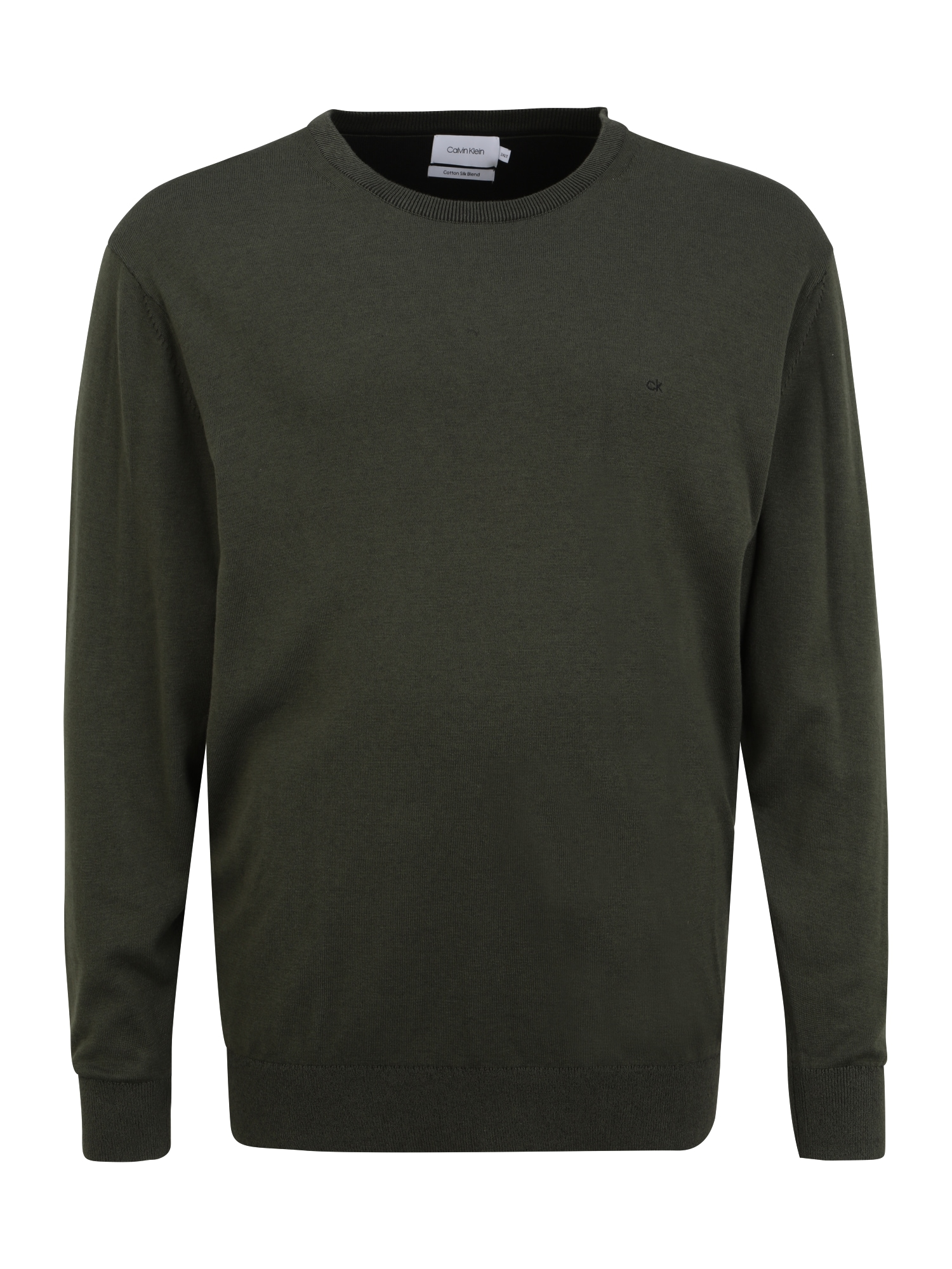 Calvin Klein Big & Tall Megztinis alyvuogių spalva / juoda