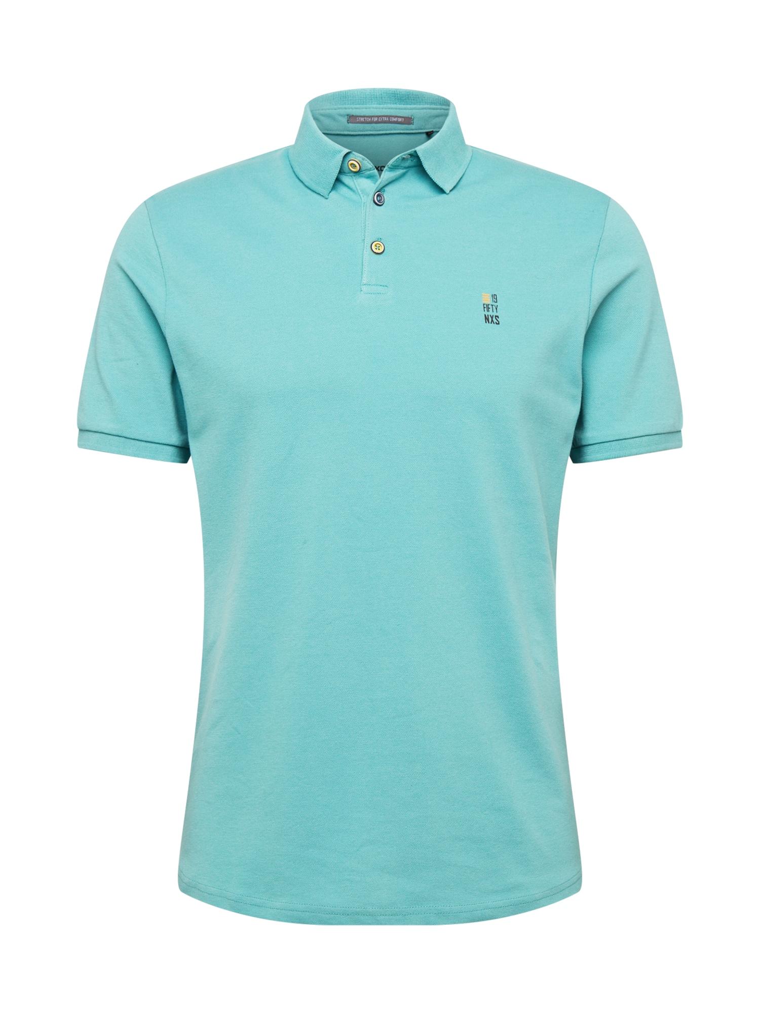 No Excess Marškinėliai turkio spalva / tamsiai mėlyna