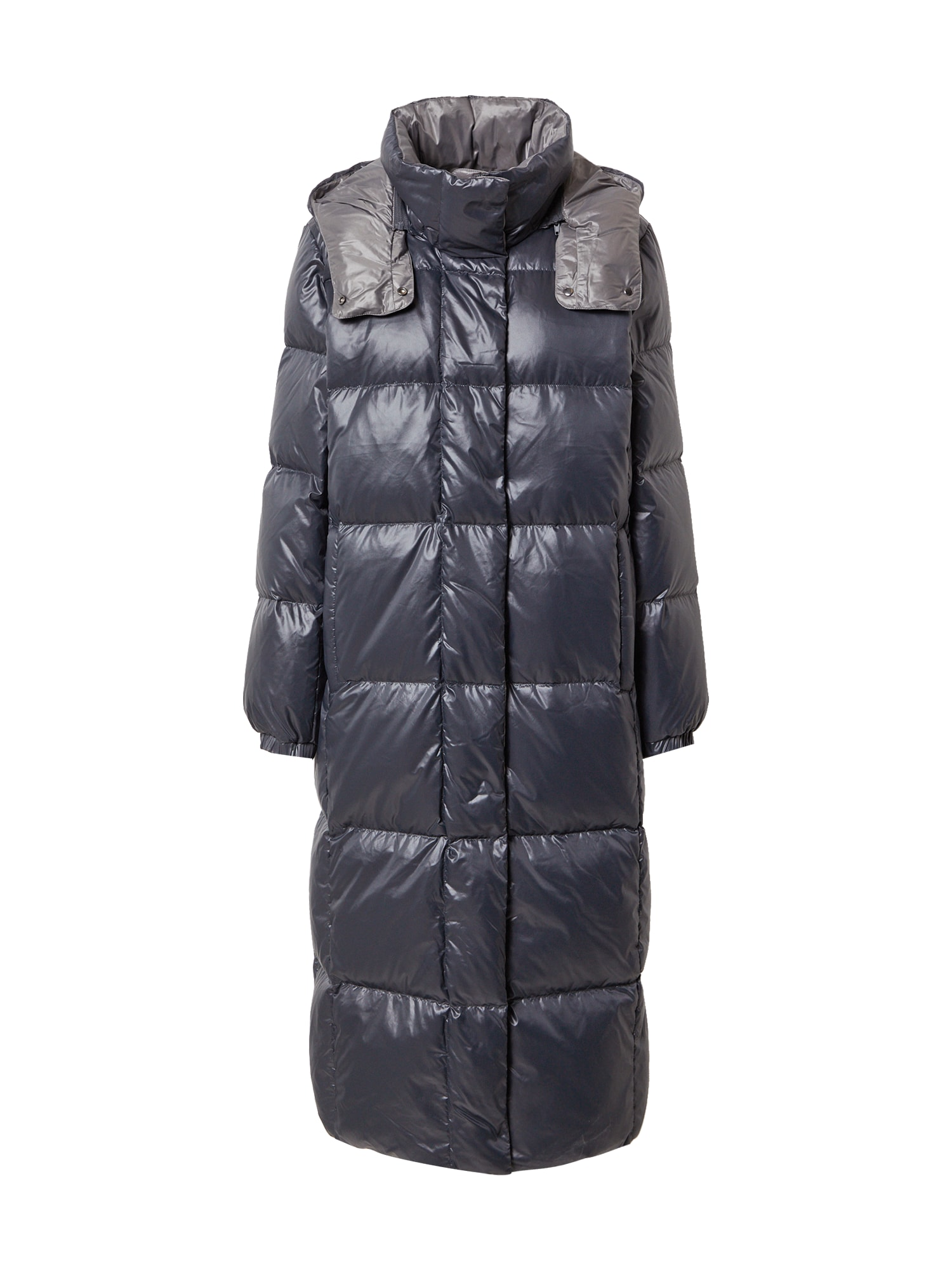 ESPRIT Žieminis paltas sidabro pilka