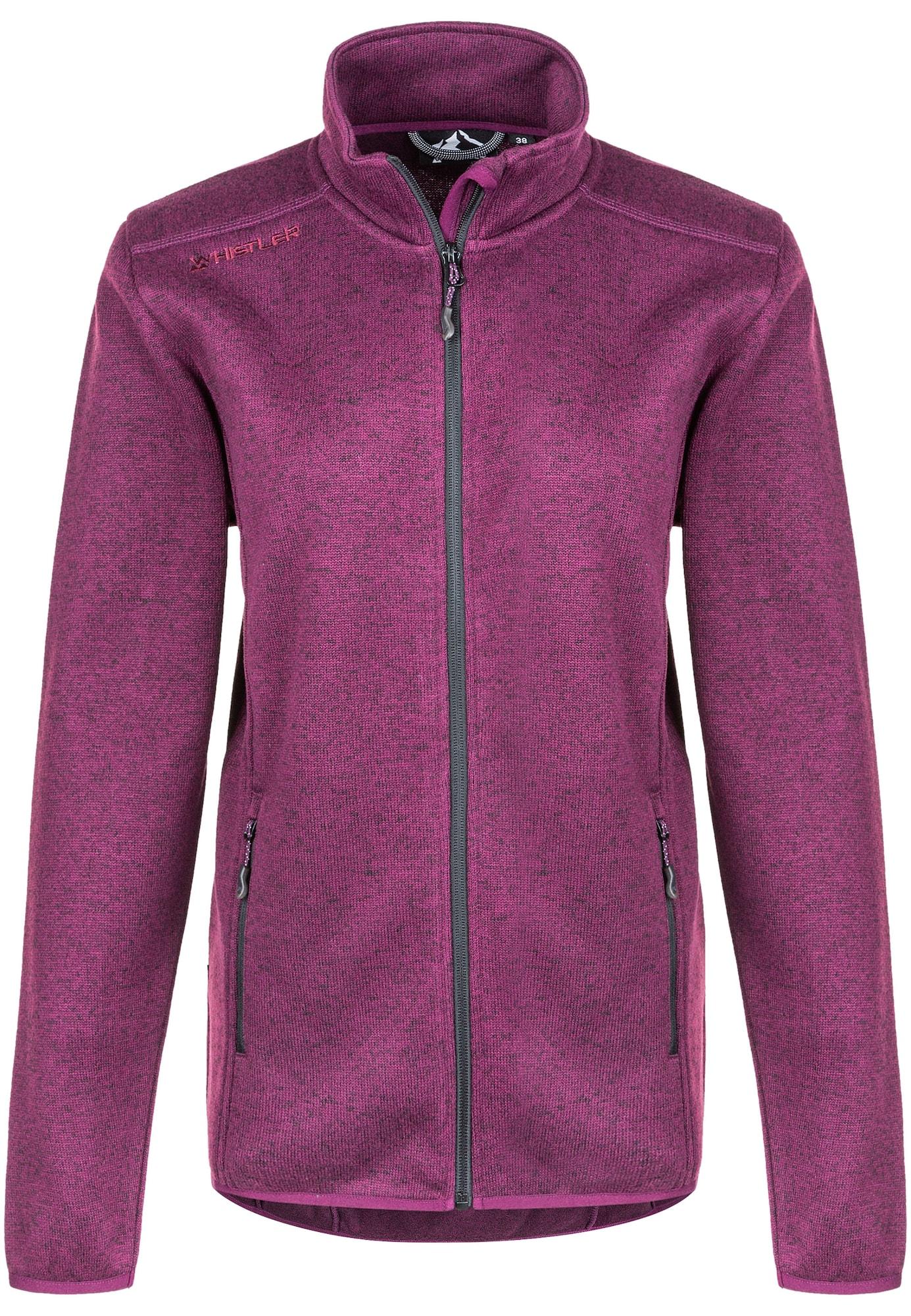 Whistler Funkcinis flisinis džemperis purpurinė