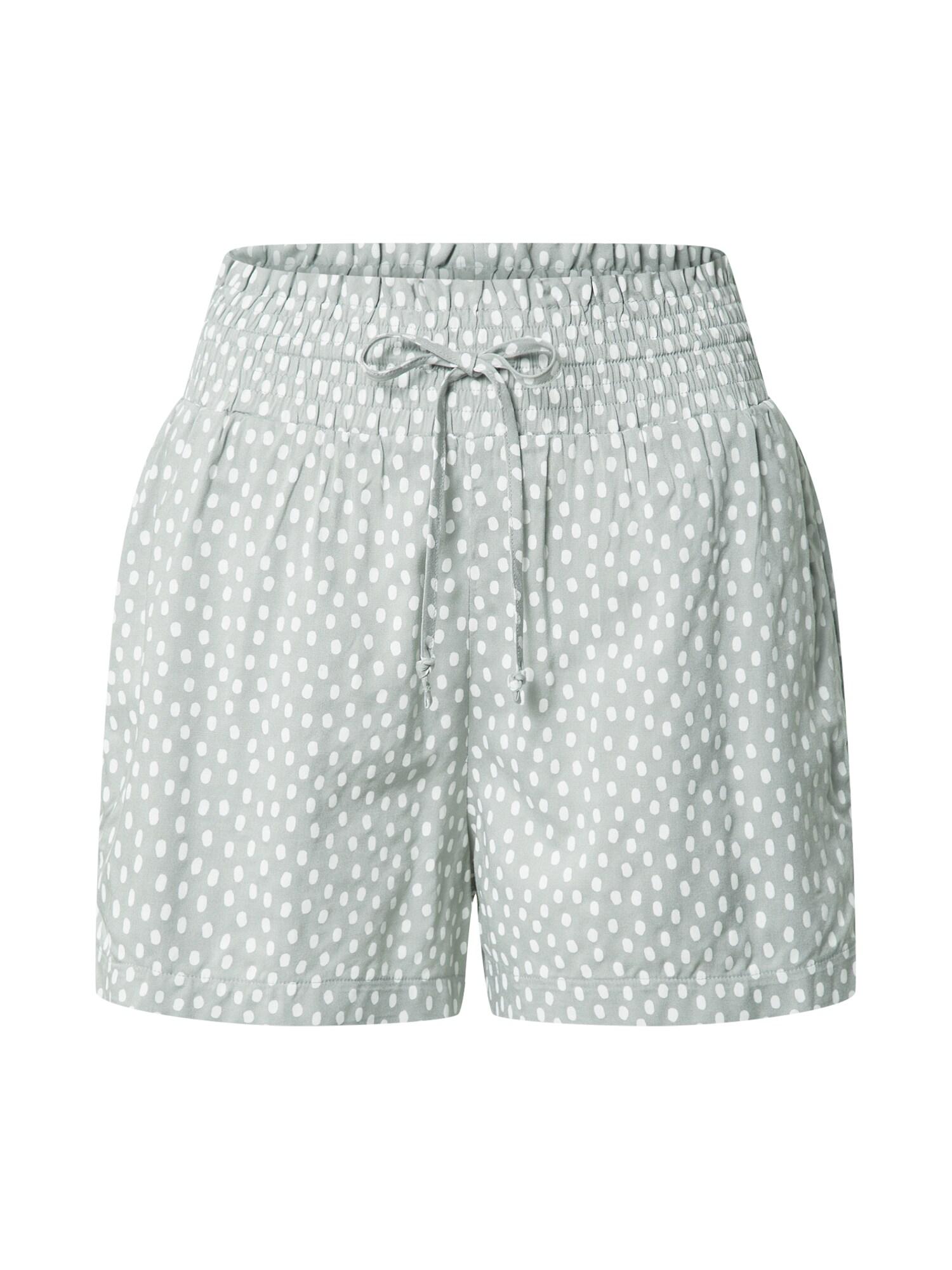 Abercrombie & Fitch Kelnės mėtų spalva / balta
