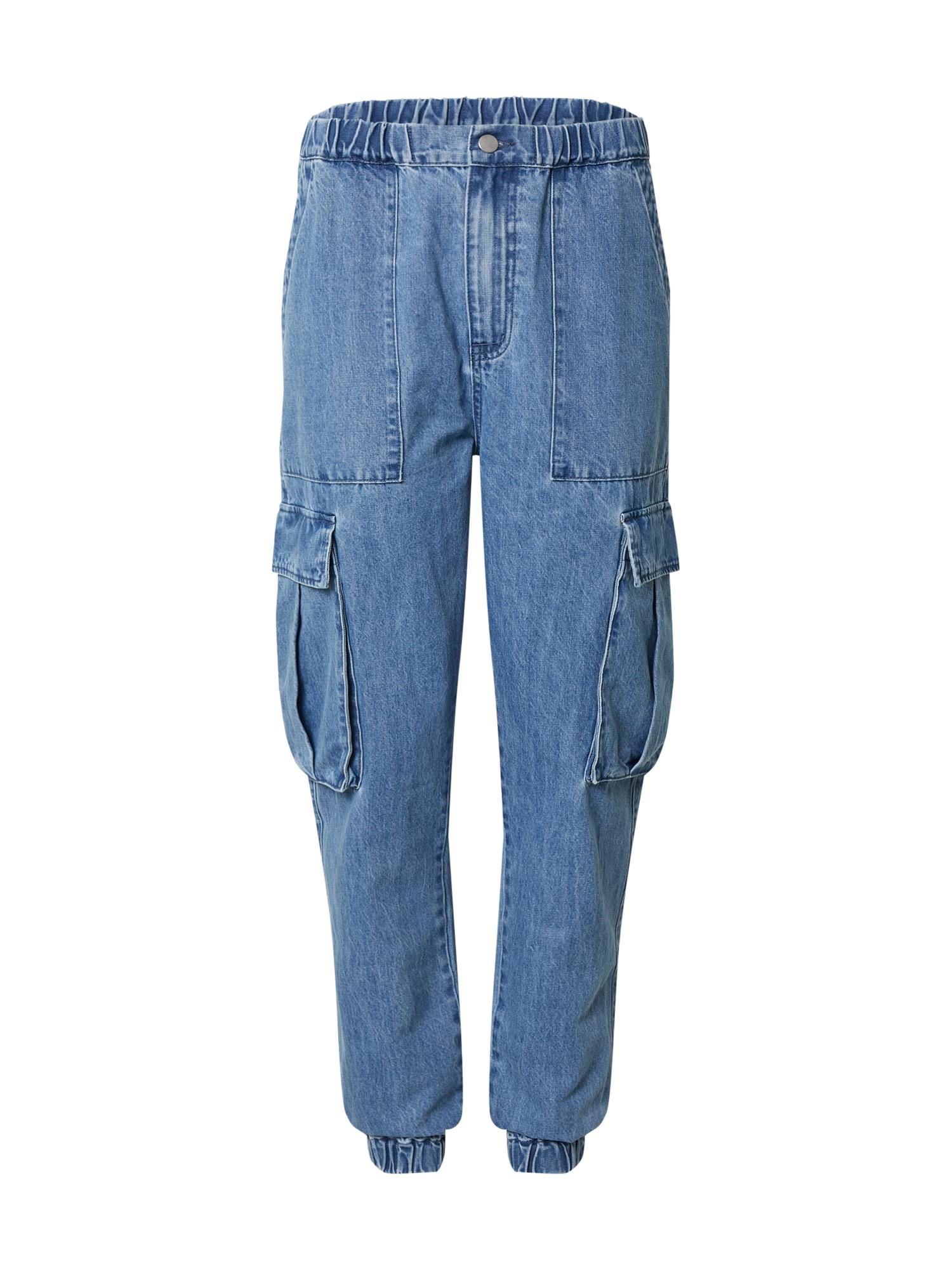 ABOUT YOU x Benny Cristo Darbinio stiliaus džinsai