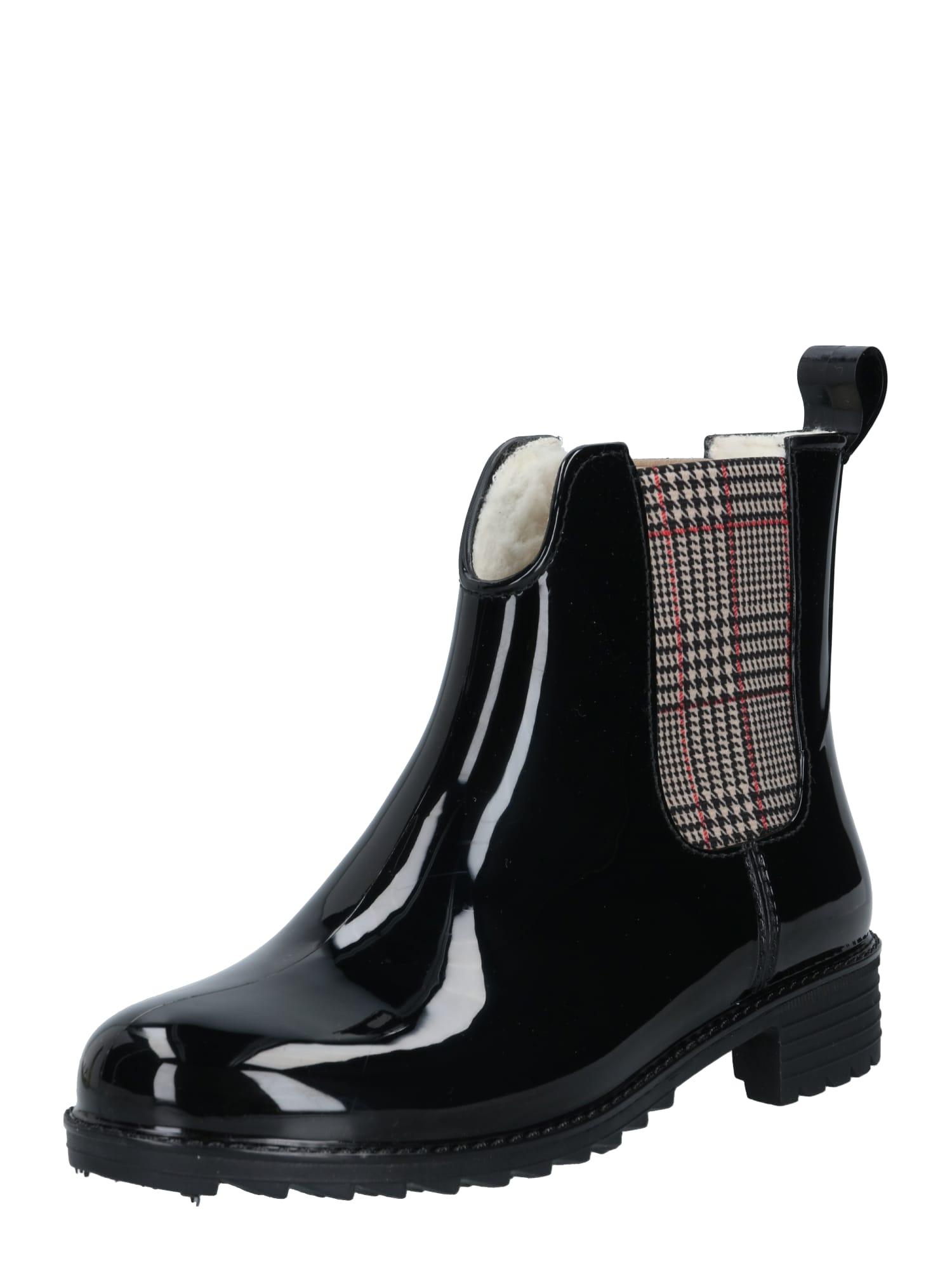 RIEKER Chelsea boty  černá