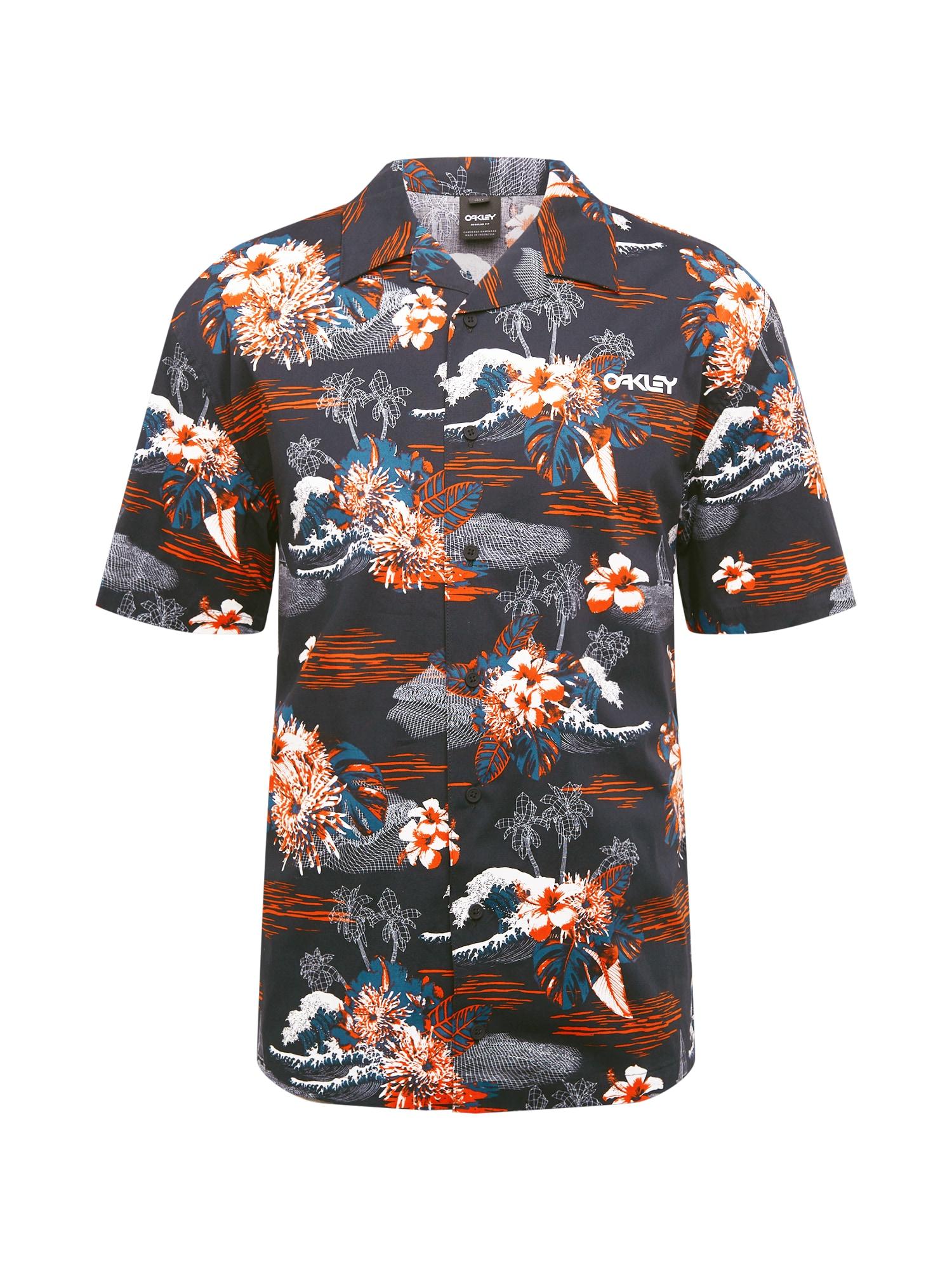 OAKLEY Funkciniai marškiniai juoda / mišrios spalvos