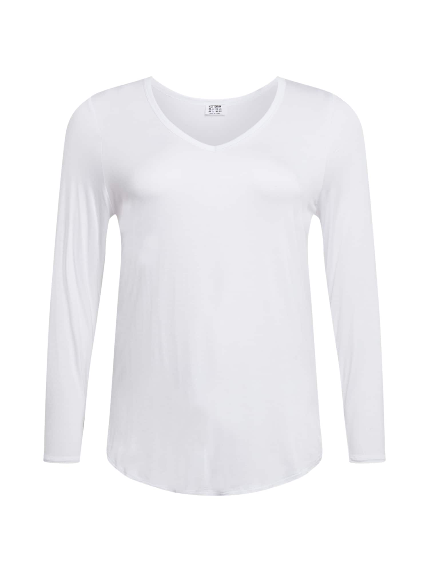 Cotton On Tričko 'Karly'  bílá