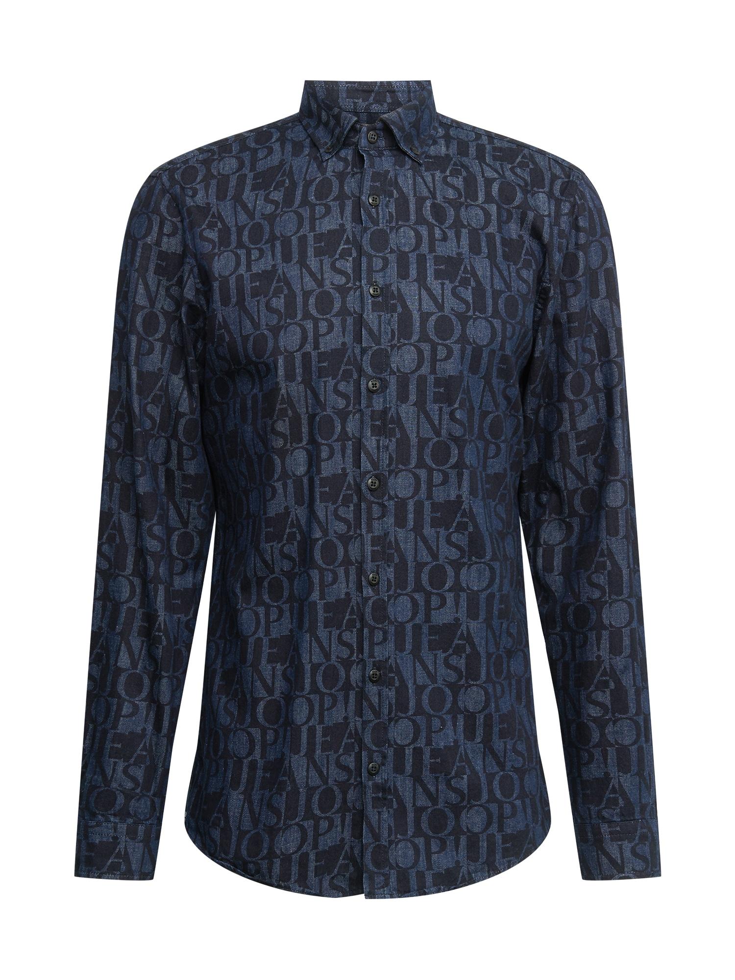 JOOP! Jeans Marškiniai tamsiai mėlyna / tamsiai (džinso) mėlyna