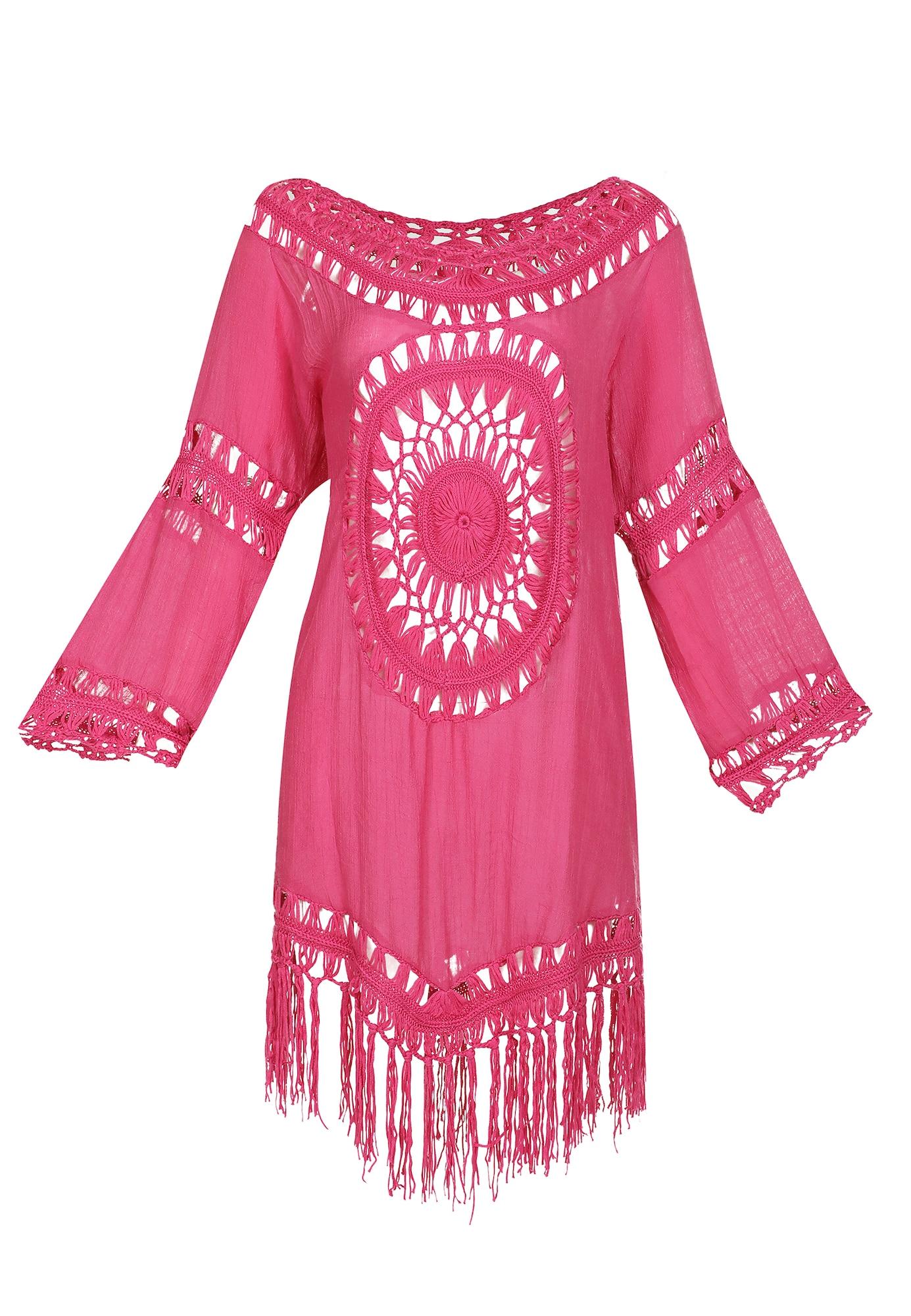 IZIA Paplūdimio suknelė rožinė
