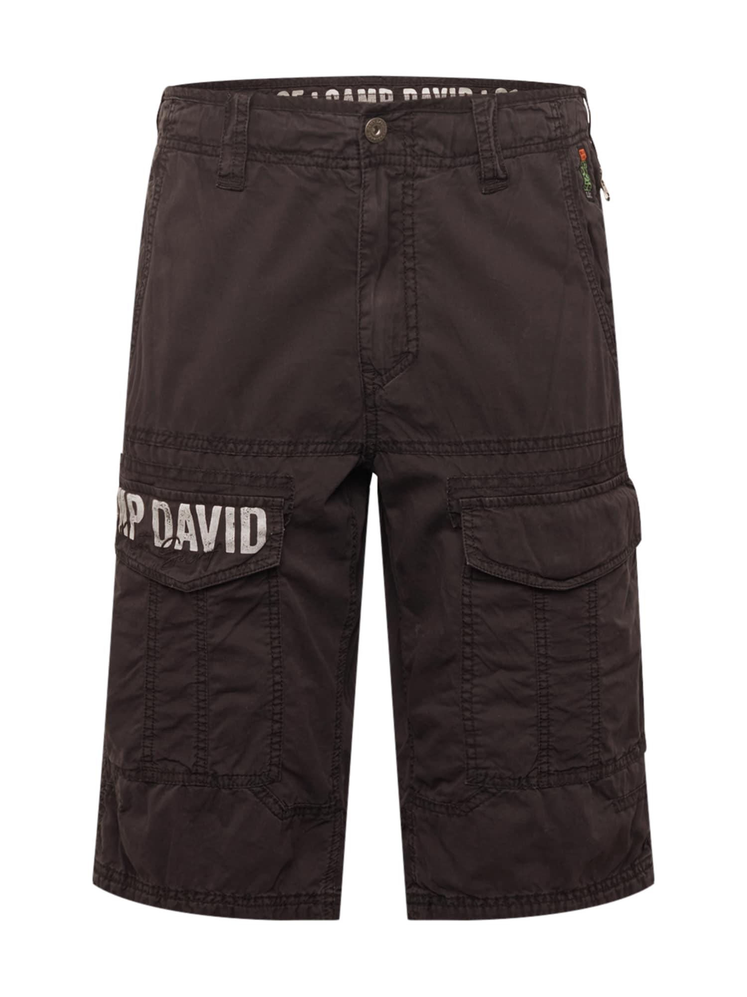 CAMP DAVID Kelnės juoda