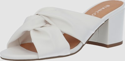Bianco Cate Knot Front Heeled Mule