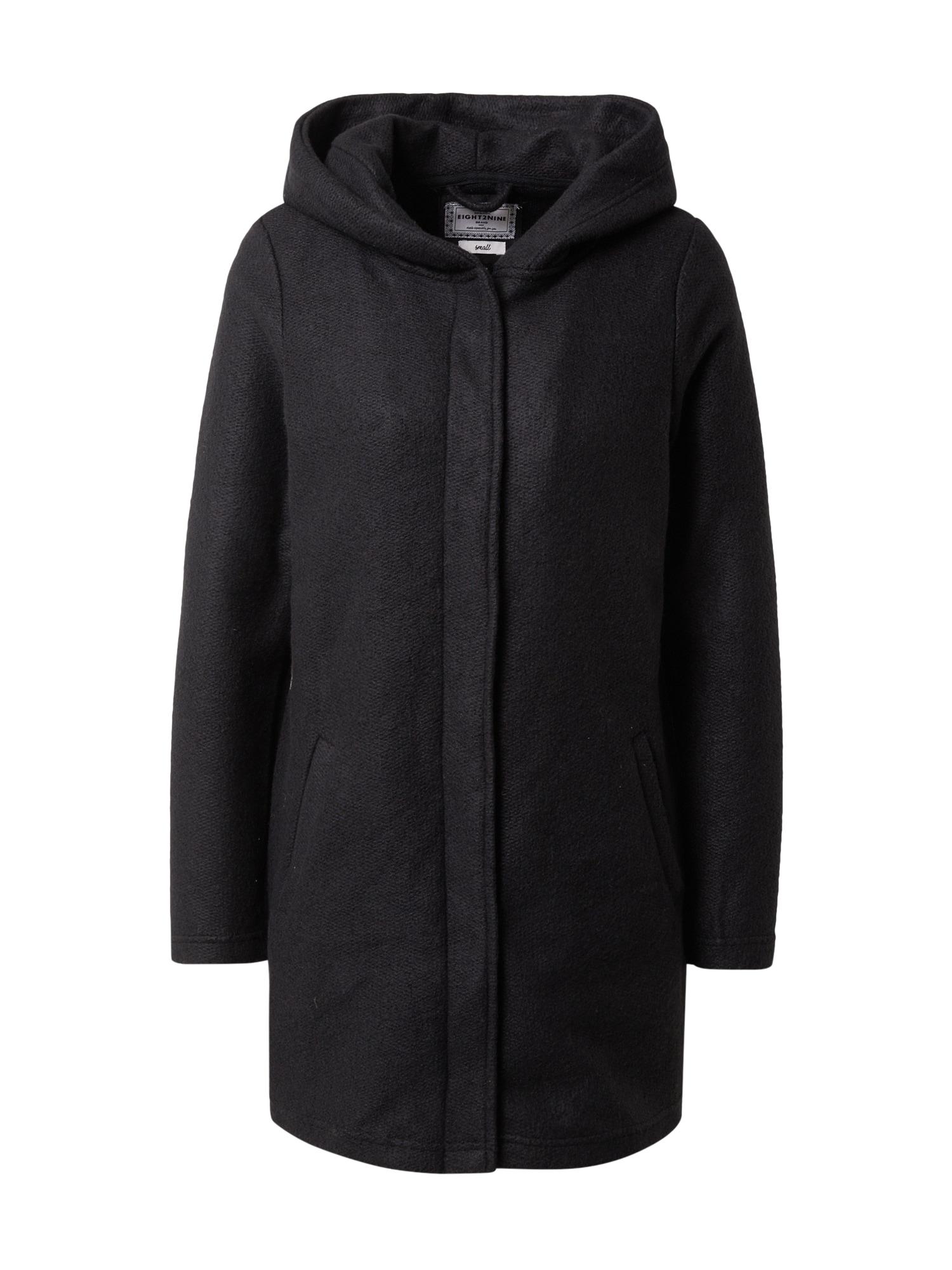 Eight2Nine Demisezoninis paltas juoda