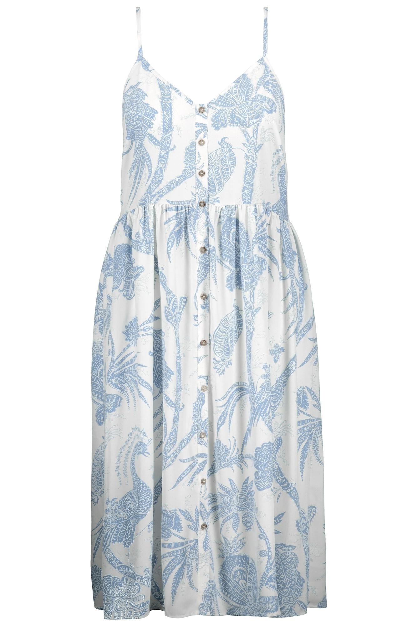 Studio Untold Vasarinė suknelė balta / šviesiai mėlyna