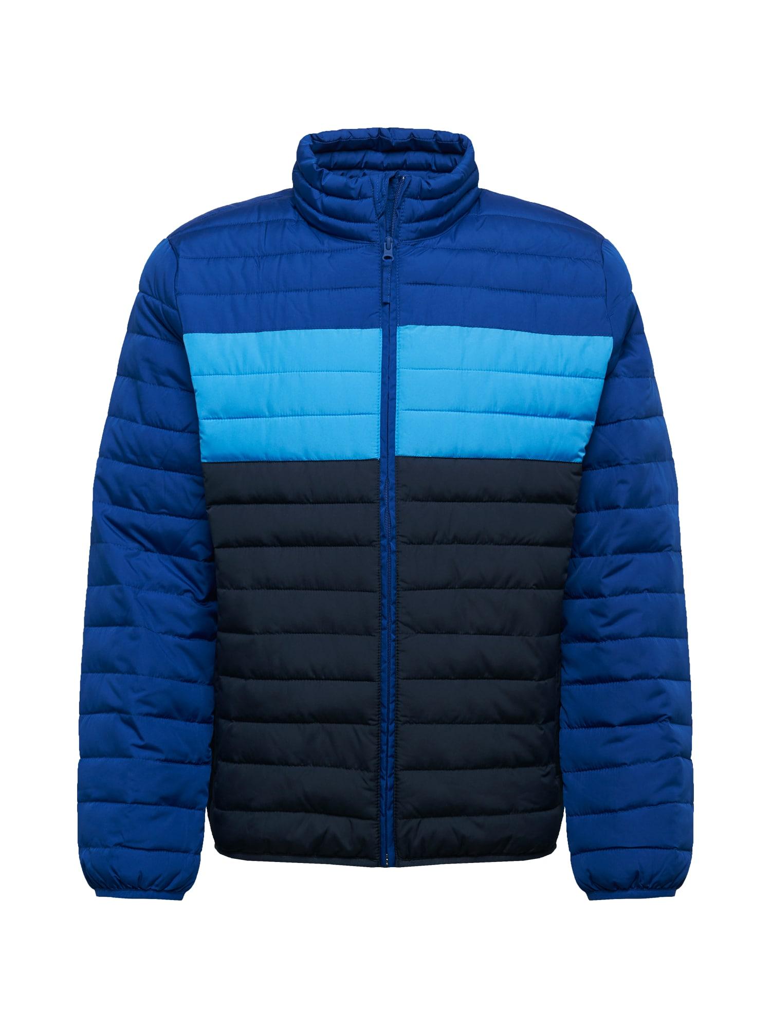 GAP Demisezoninė striukė mėlyna / vandens spalva / tamsiai mėlyna