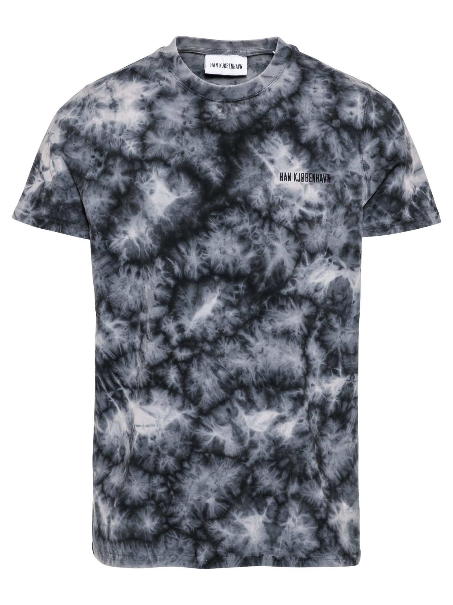 Han Kjøbenhavn Marškinėliai juoda / balta