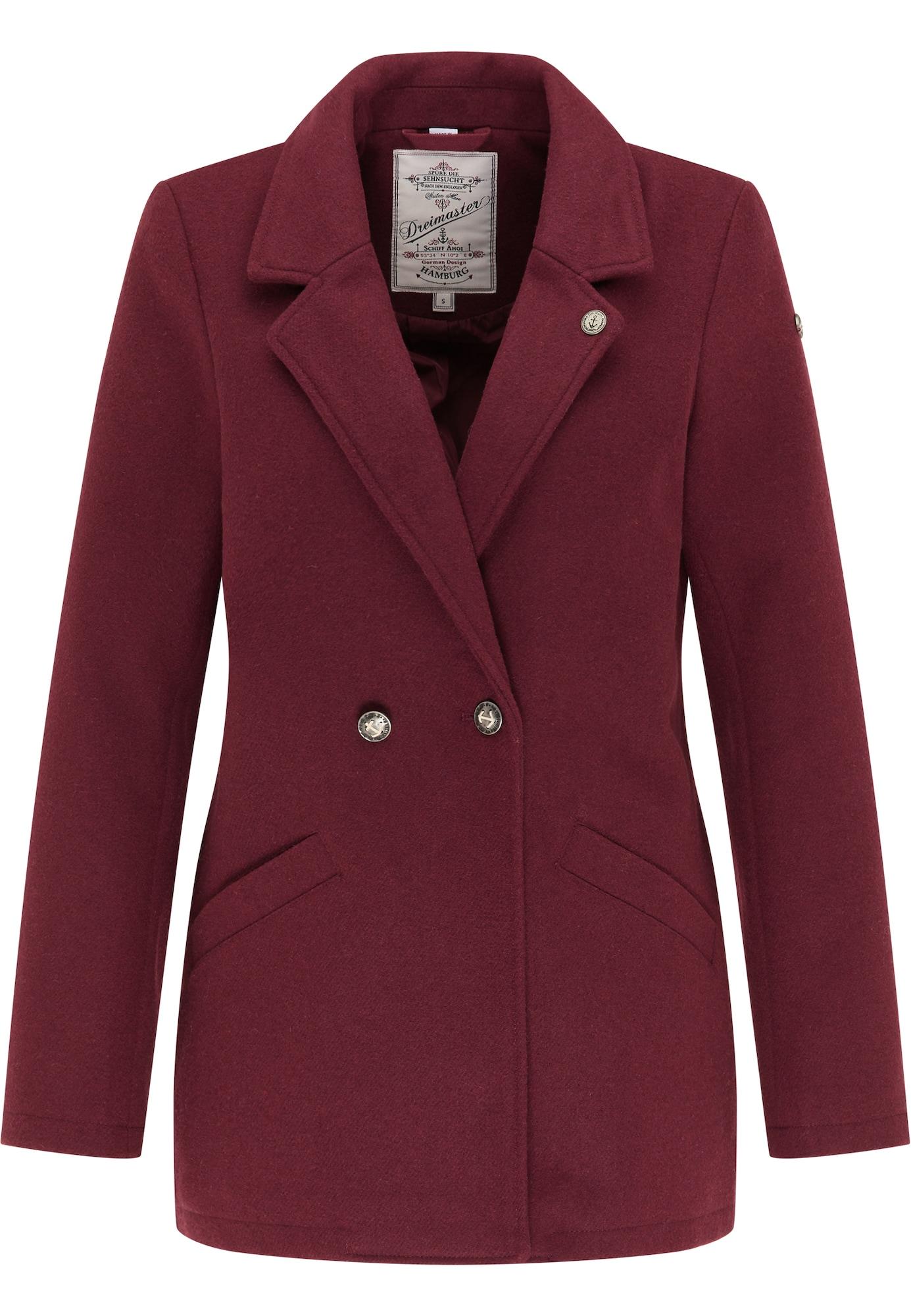 DreiMaster Vintage Švarkas tamsiai raudona