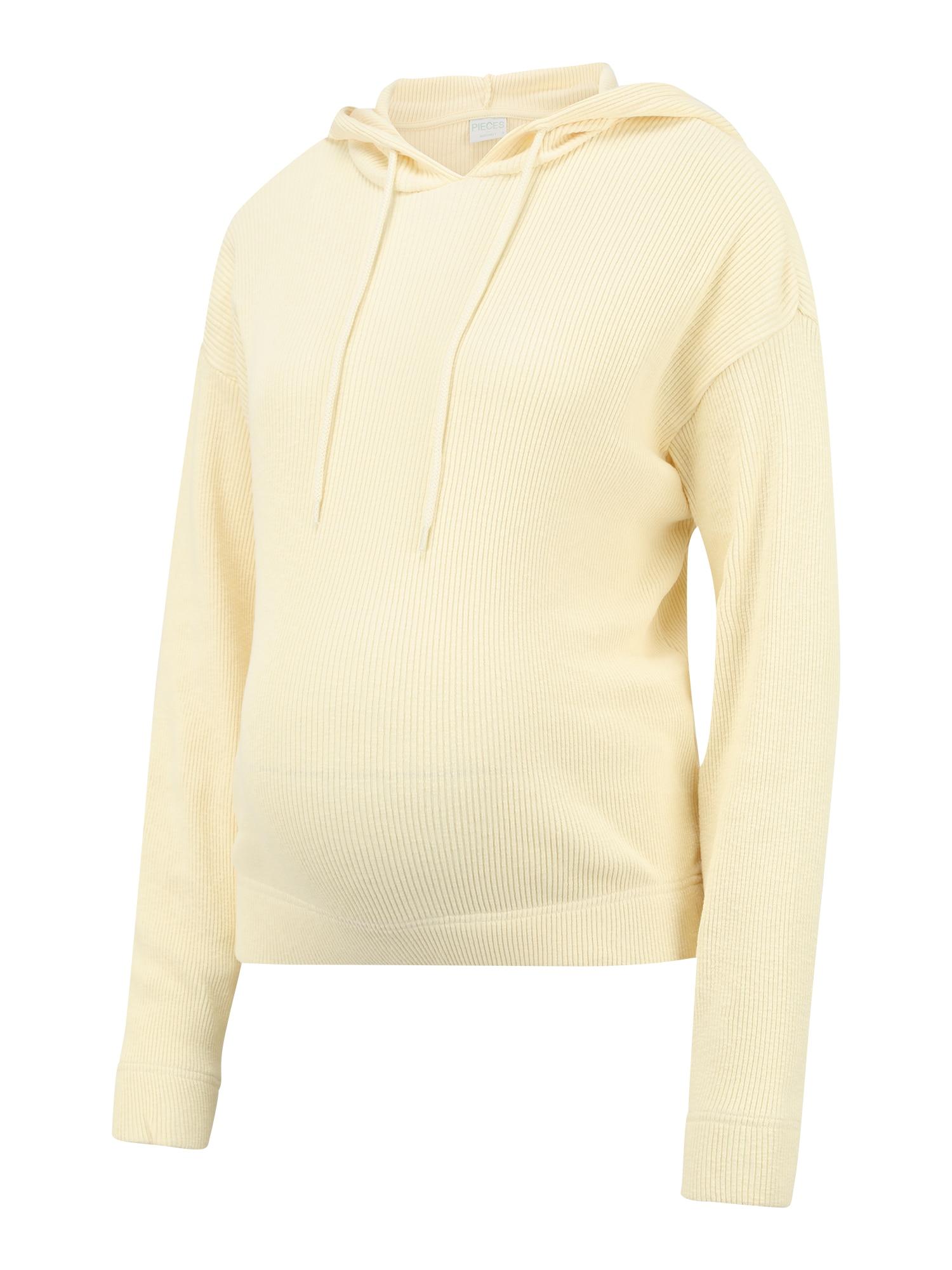 MAMALICIOUS Megztinis be užsegimo 'GRYNETTA' šviesiai geltona