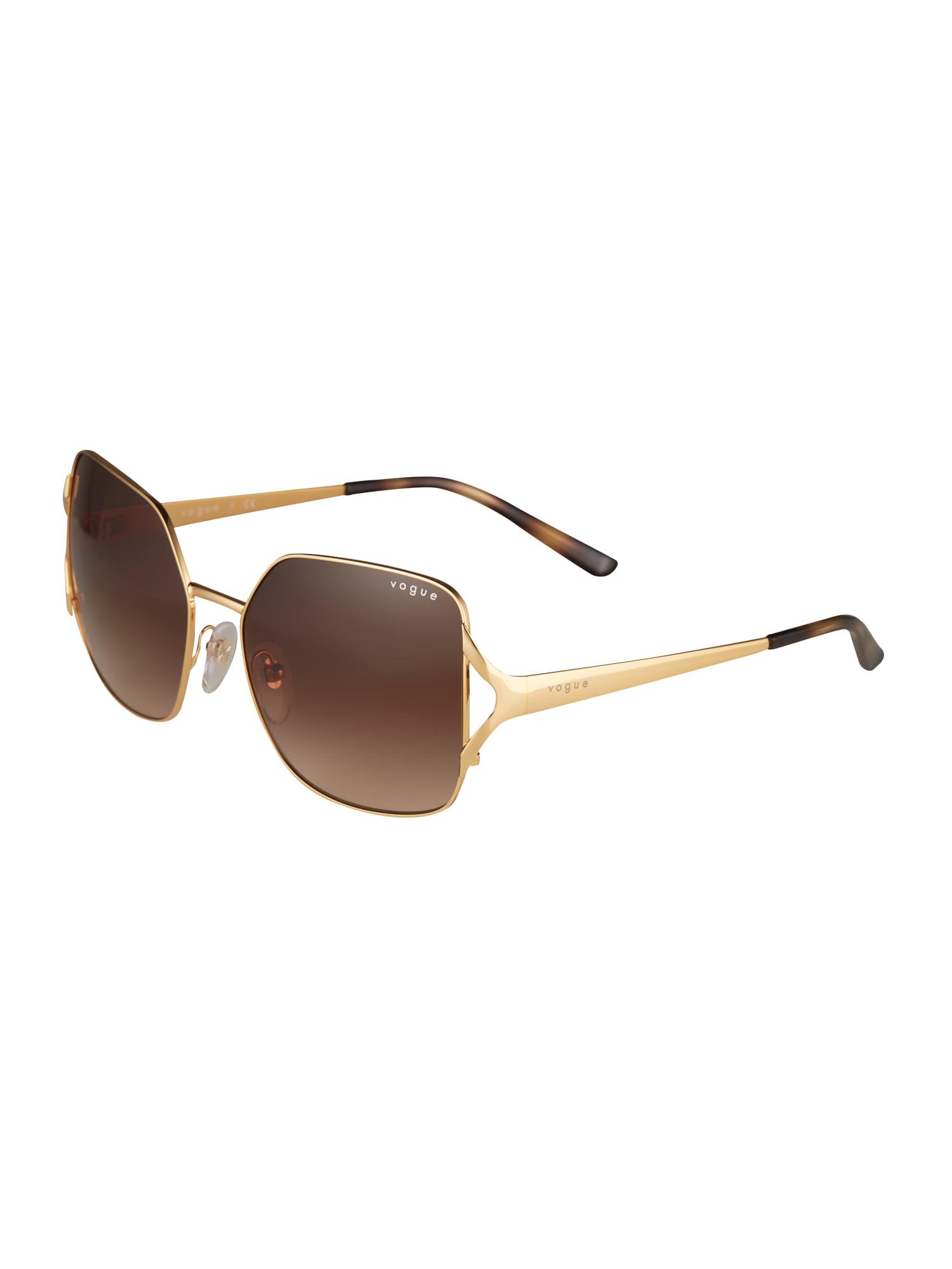 VOGUE Eyewear Akiniai nuo saulės auksas / ruda