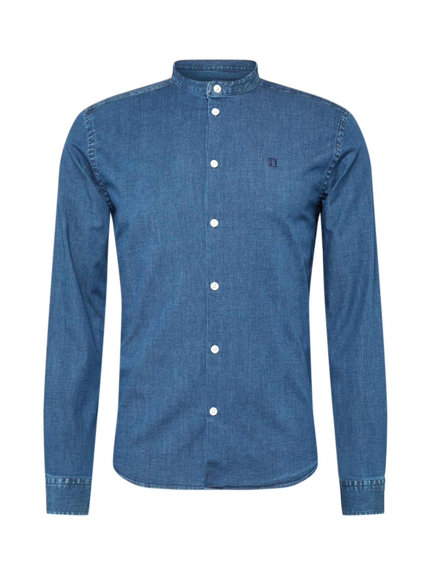 Les Deux Marškiniai mėlyna