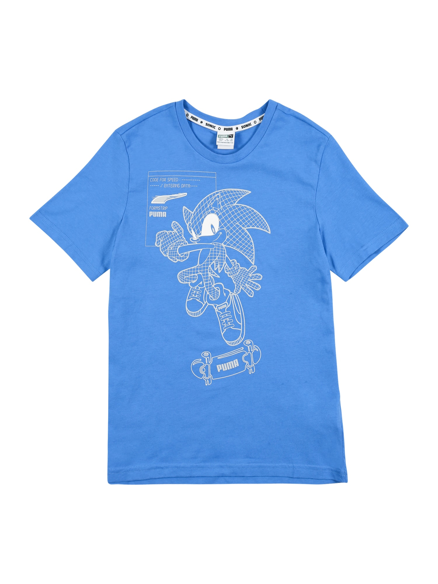 PUMA Tričko 'Sega'  modrá