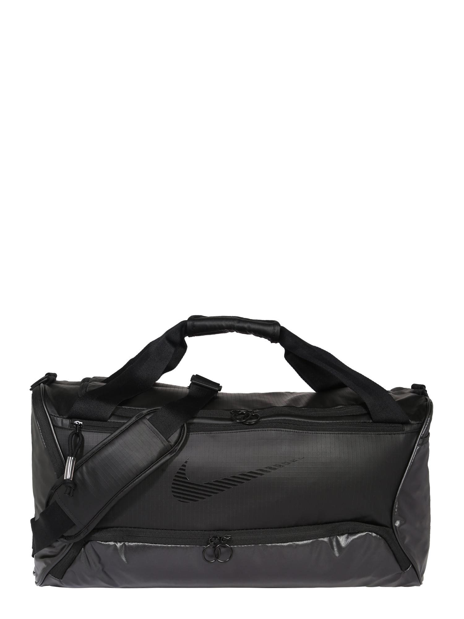 NIKE Sportinis krepšys 'Brasilia' juoda
