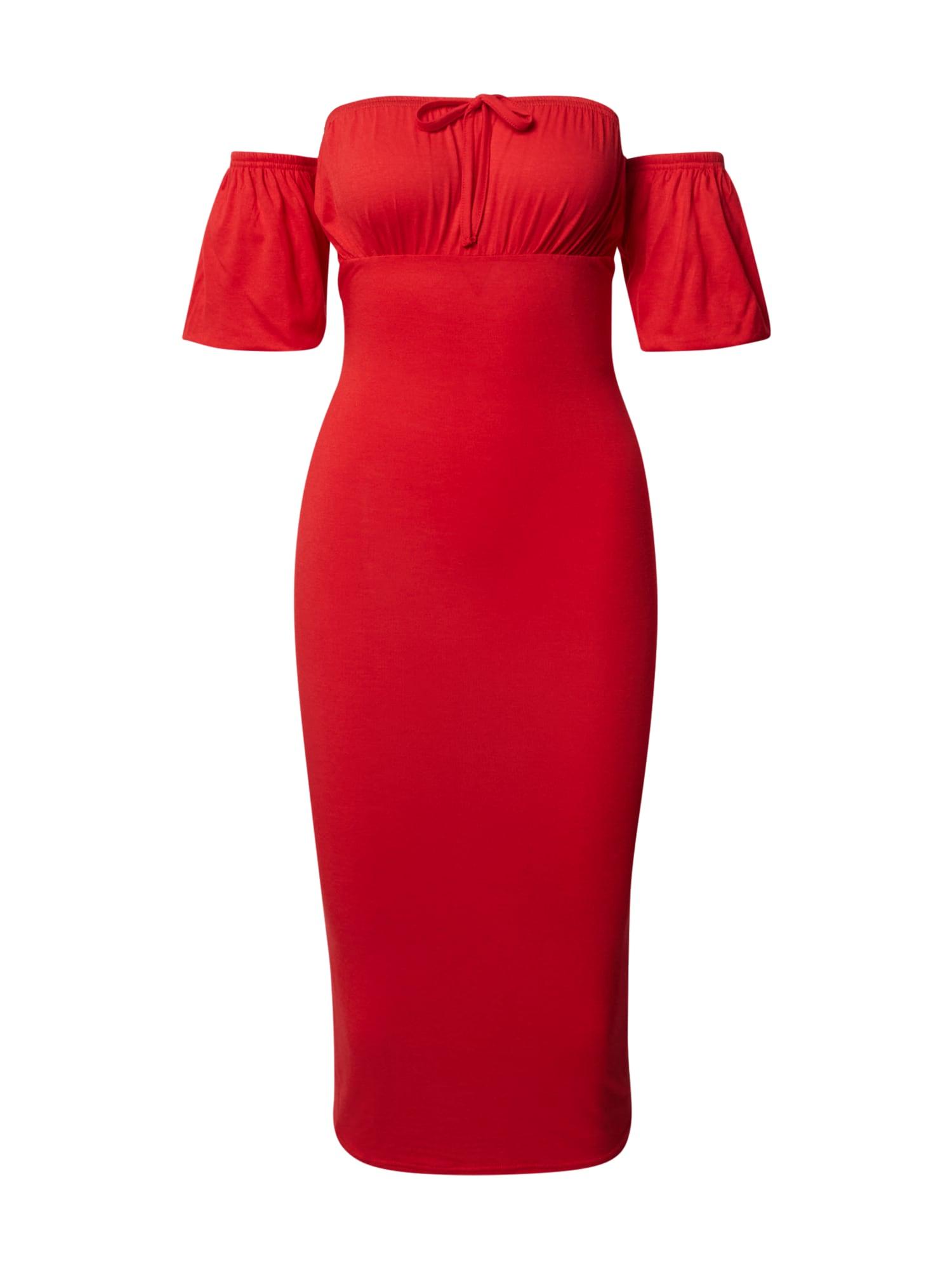 Missguided Suknelė šviesiai raudona