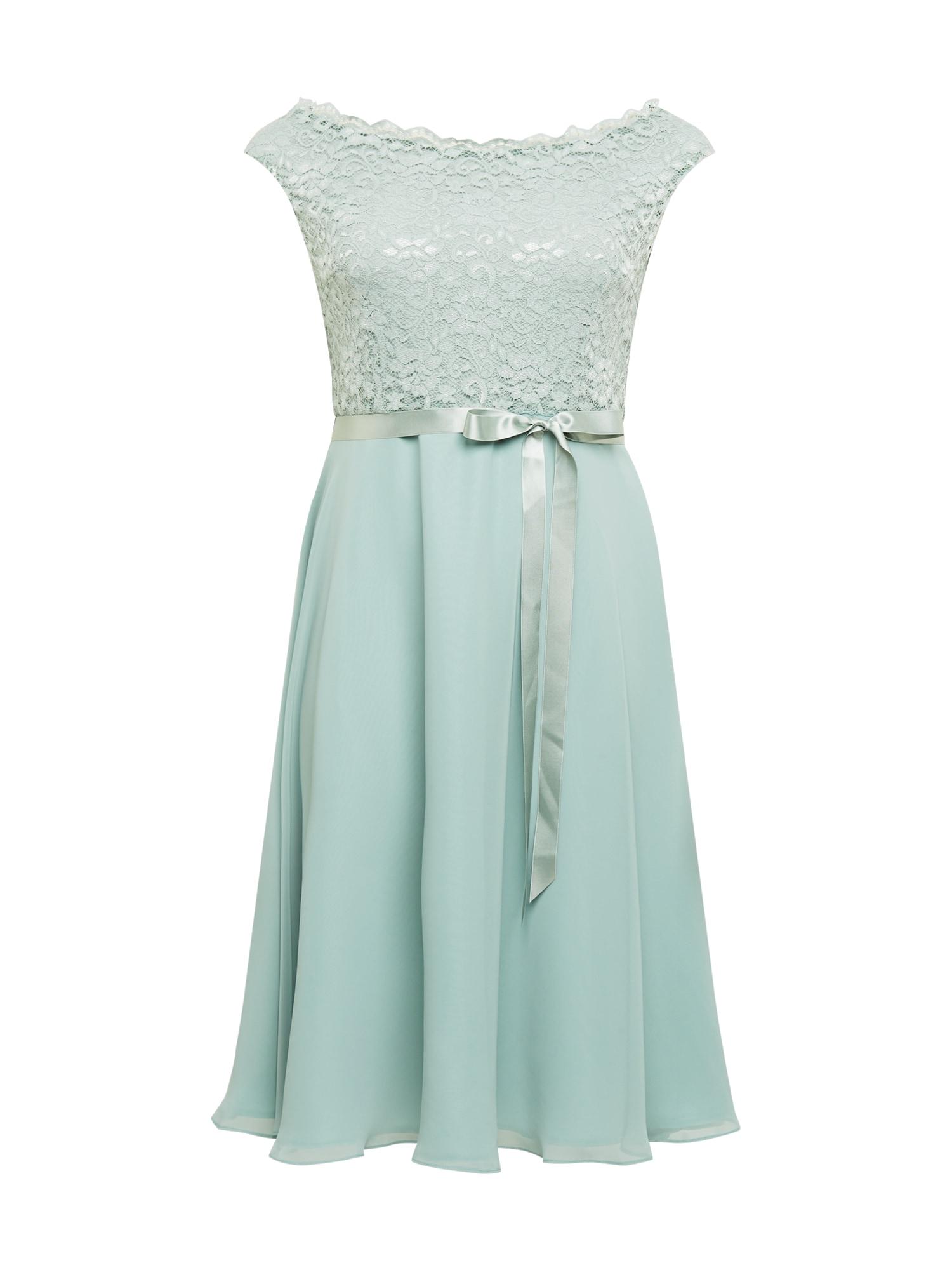 SWING Curve Kokteilinė suknelė žalia