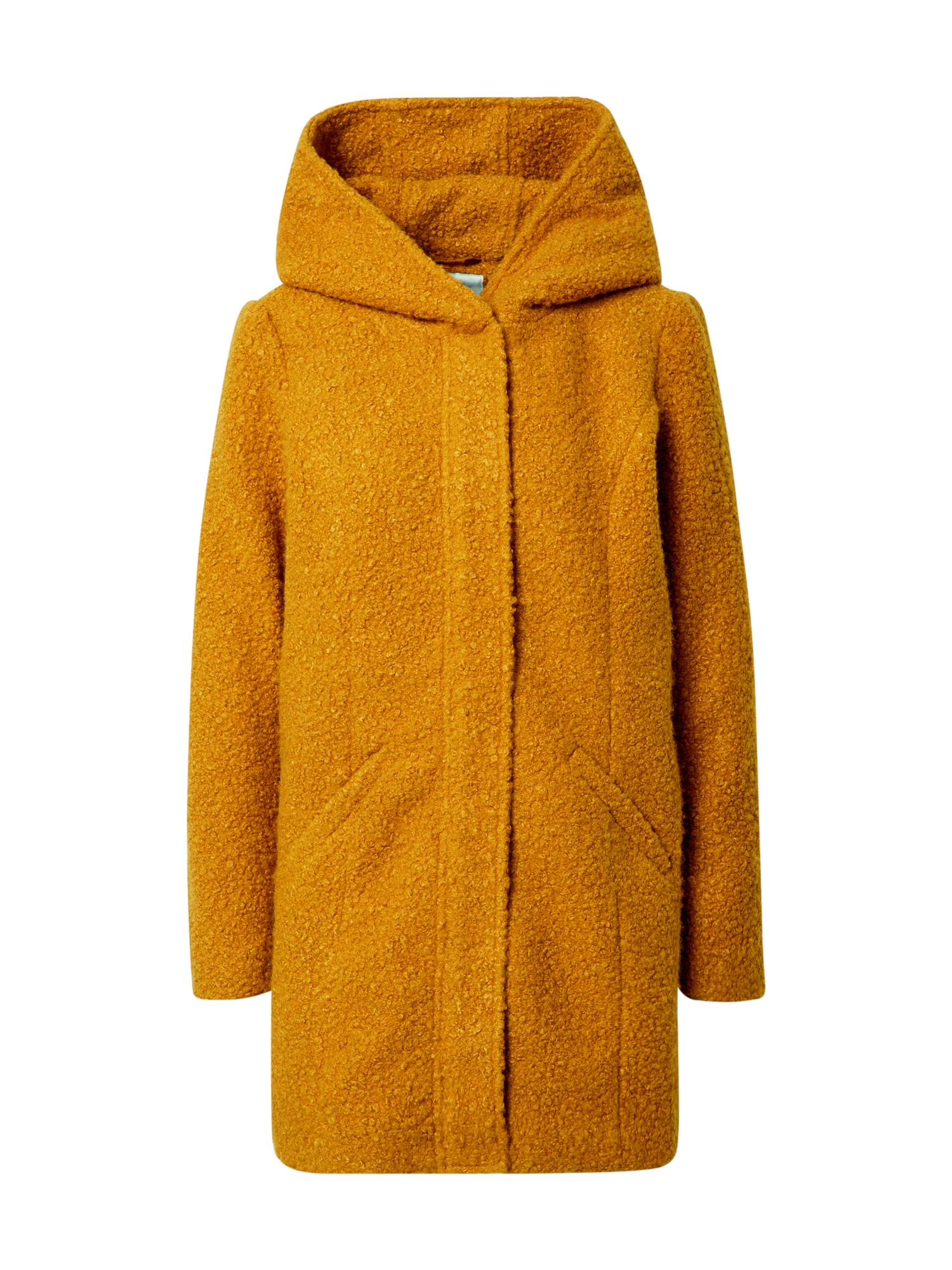 JACQUELINE de YONG Zimní kabát 'Sonya'  kaštanově hnědá
