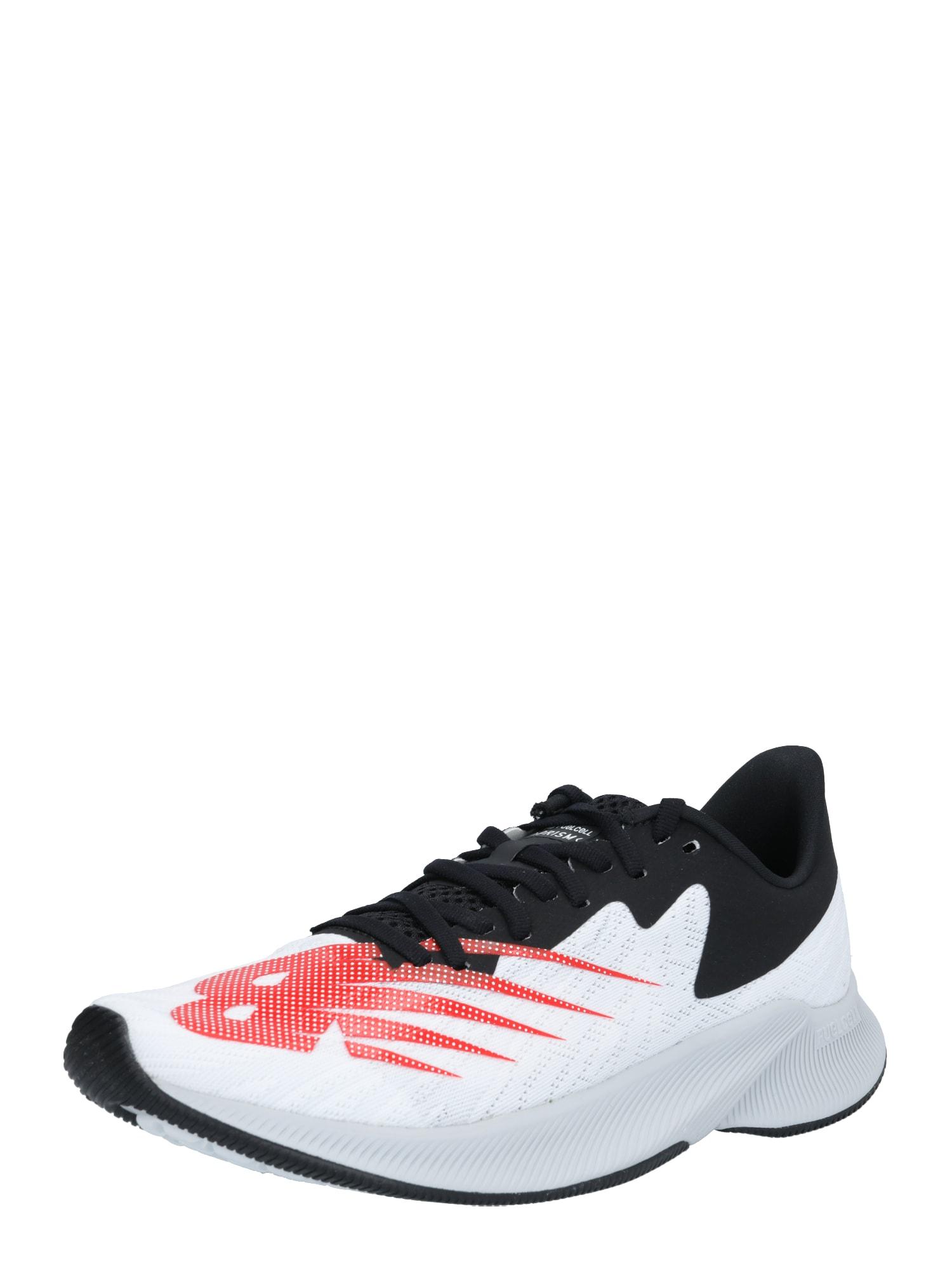 new balance Bėgimo batai juoda / raudona / balta