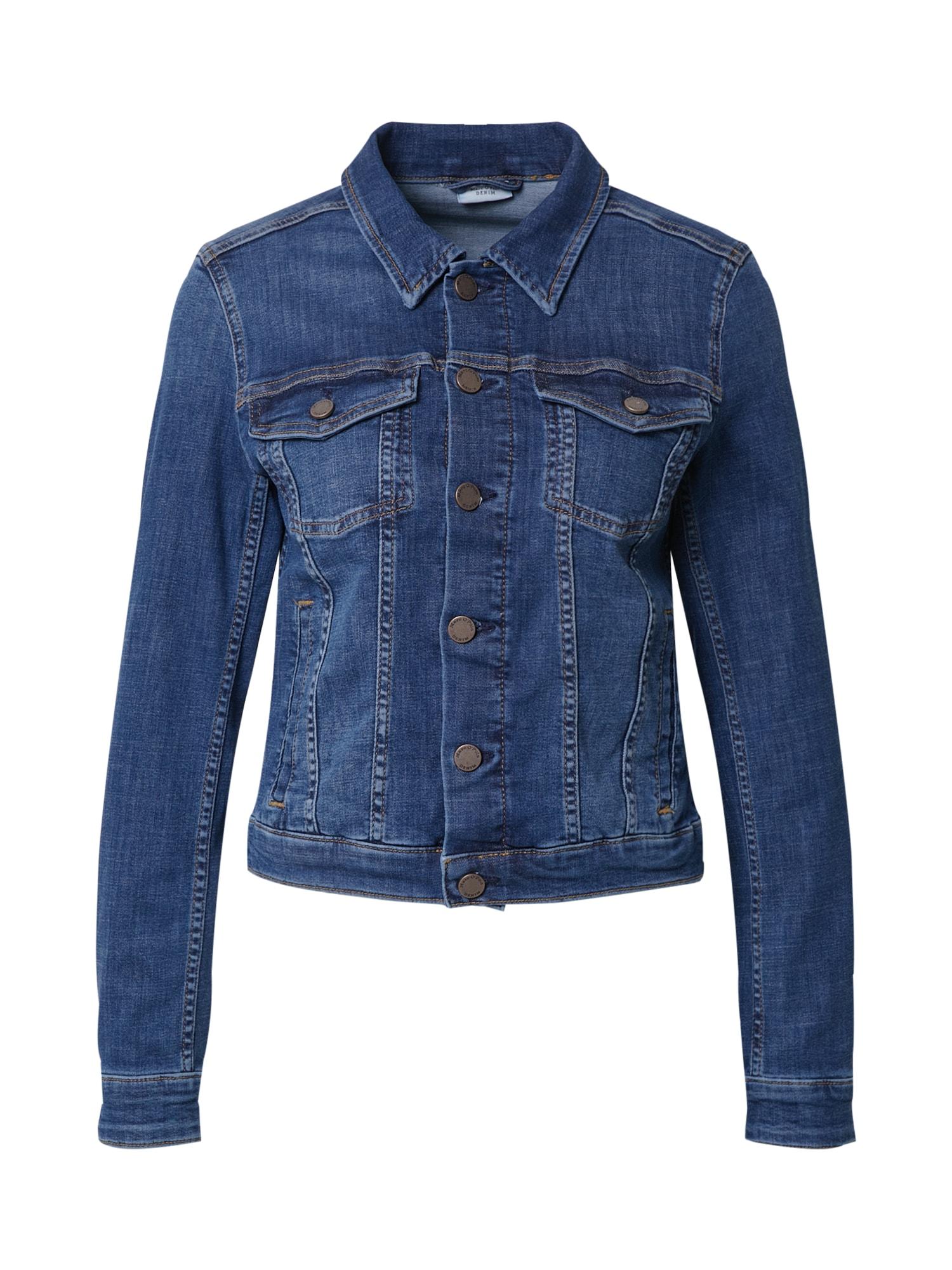 Marc O'Polo DENIM Demisezoninė striukė tamsiai (džinso) mėlyna