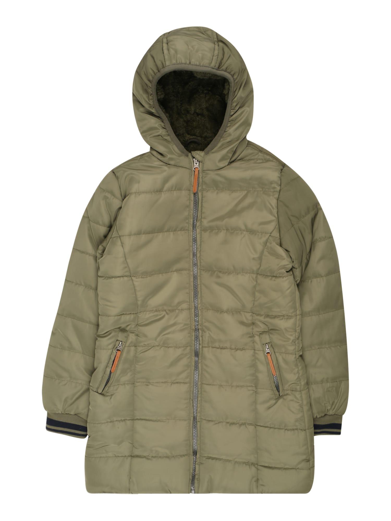 LEMON BERET Paltas 'Small Girls Jacket' tamsiai žalia