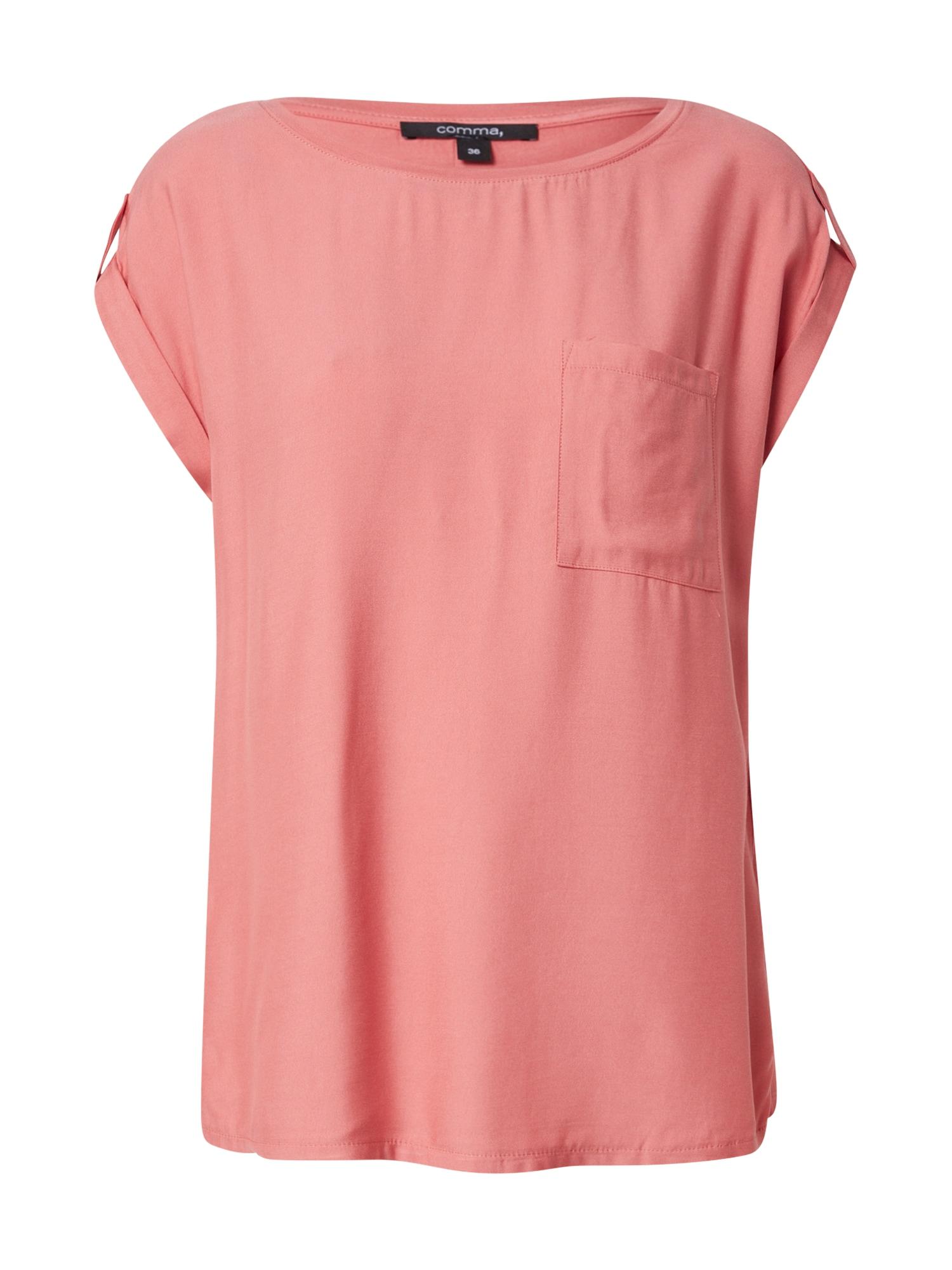 COMMA Marškinėliai melionų spalva