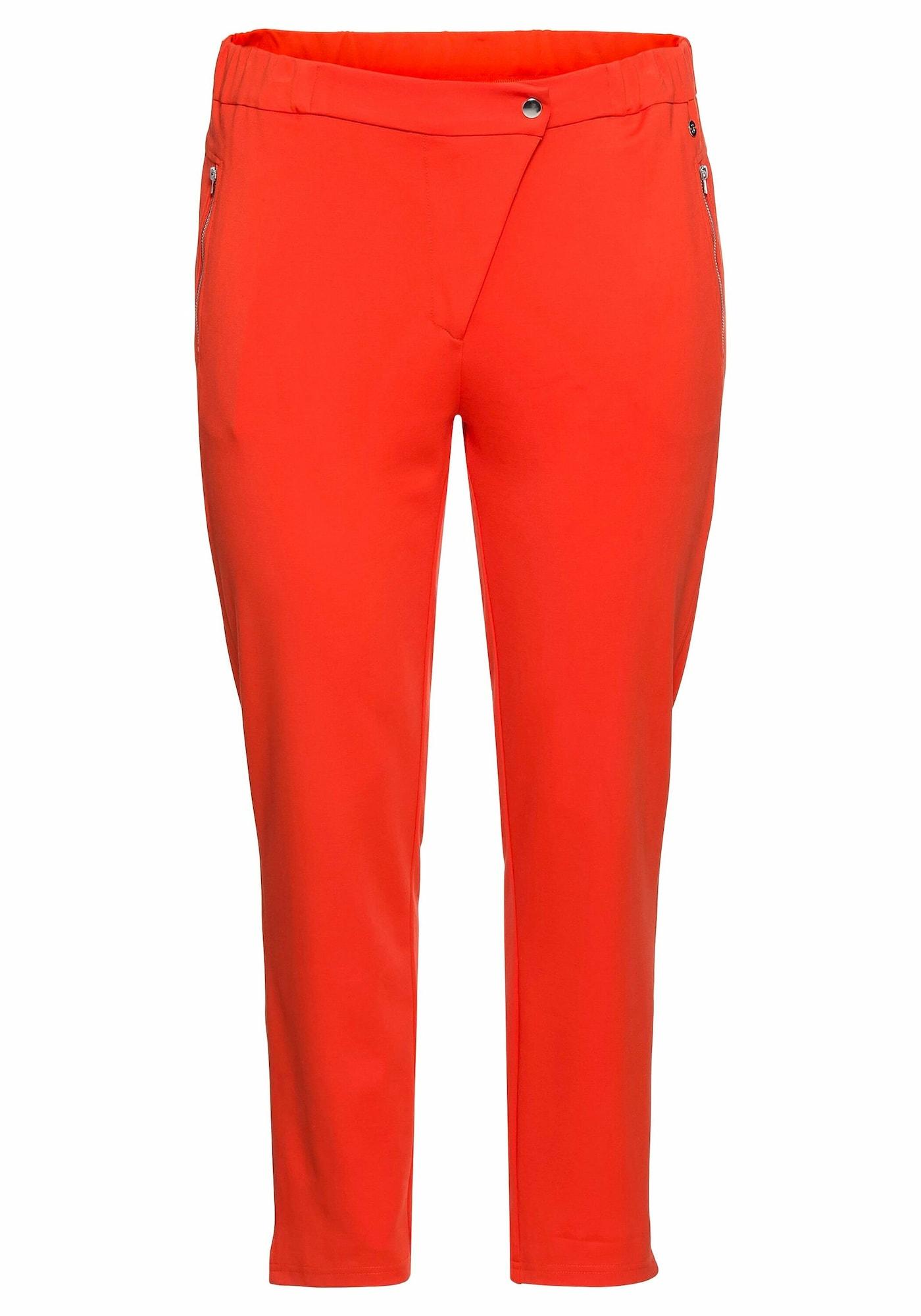 SHEEGO Kelnės oranžinė-raudona