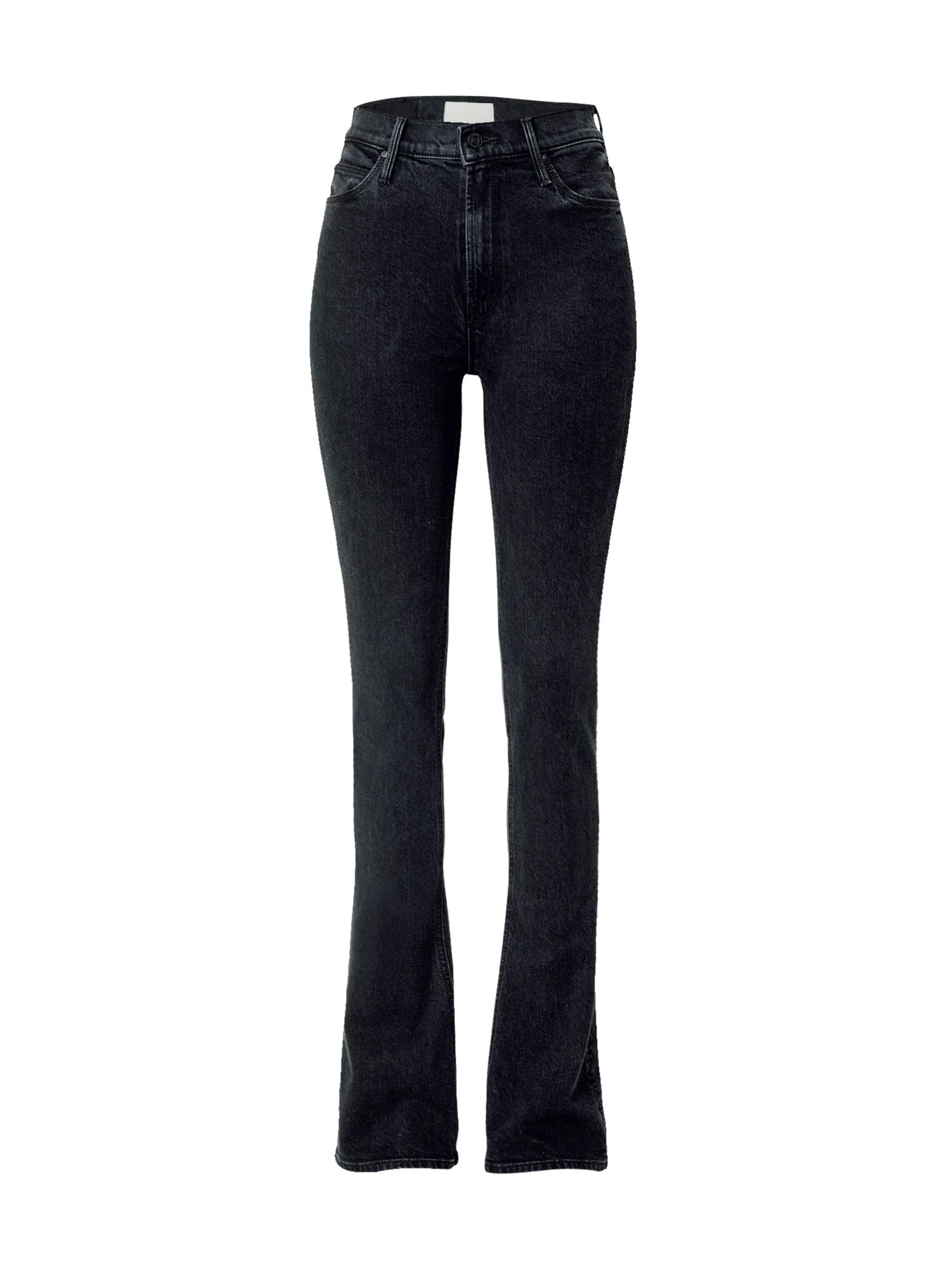 MOTHER Džinsai juodo džinso spalva