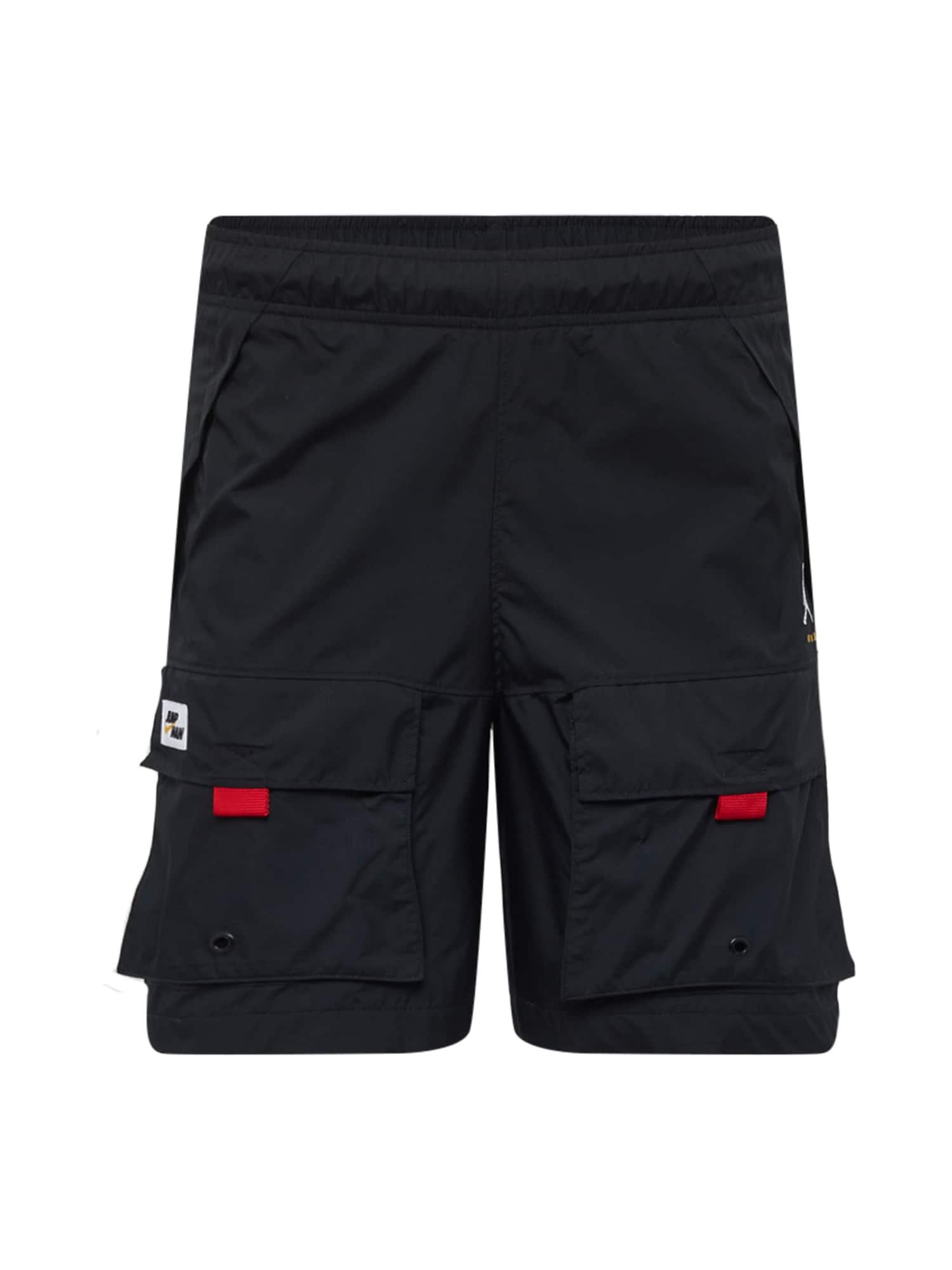 Jordan Laisvo stiliaus kelnės juoda