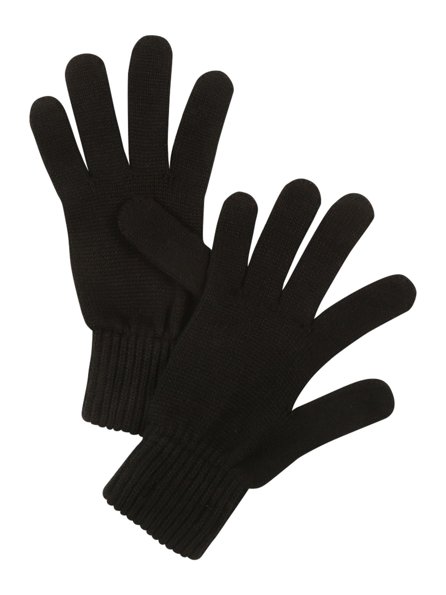 Calvin Klein Jeans Prstové rukavice  černá