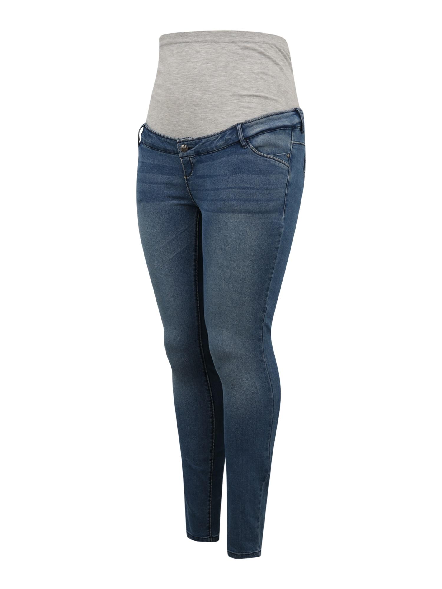 Mamalicious Curve Džinsai 'SARNIA' tamsiai (džinso) mėlyna