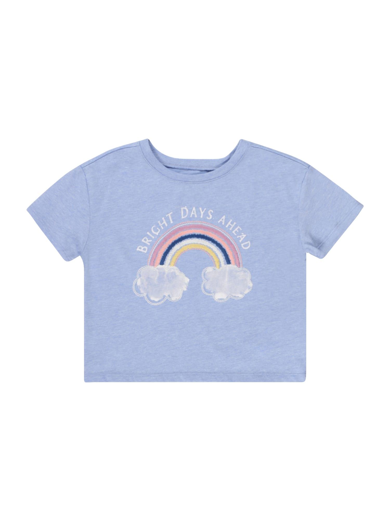 OshKosh Marškinėliai margai mėlyna / balta / ryškiai rožinė spalva / geltona / tamsiai mėlyna