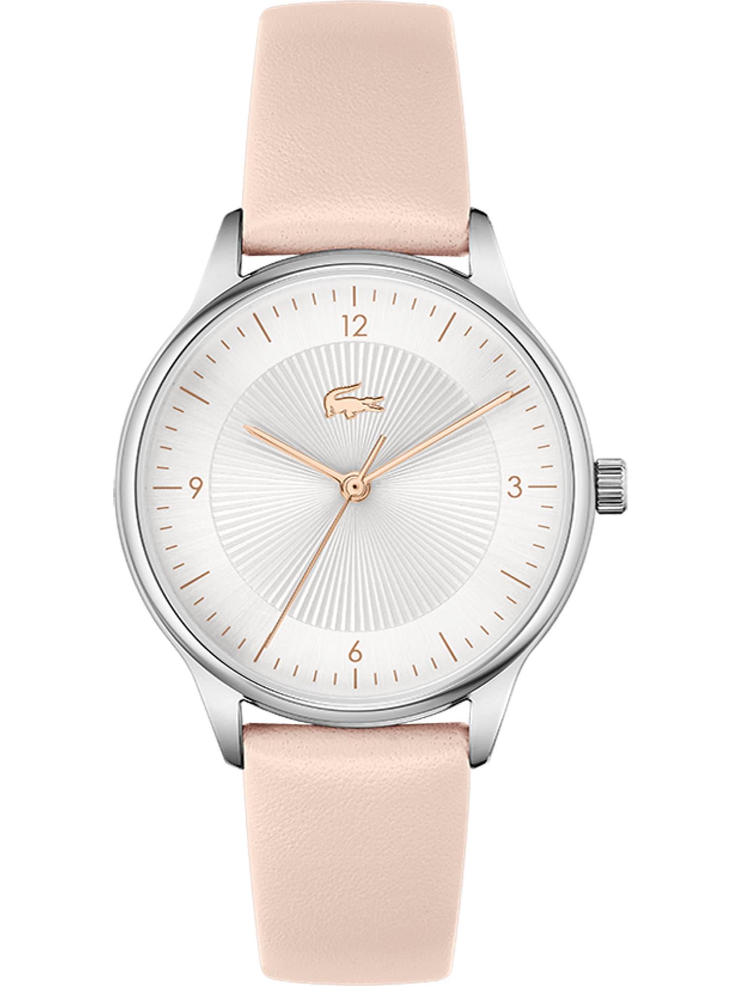 LACOSTE Analoginis (įprasto dizaino) laikrodis sidabrinė / auksas / pudros spalva