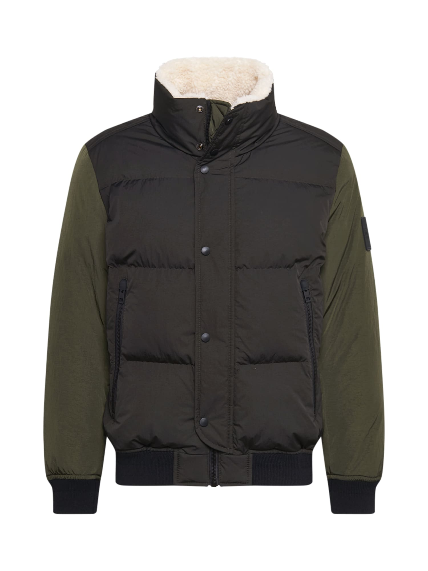 BOSS Zimní bunda 'Osk'  tmavě zelená