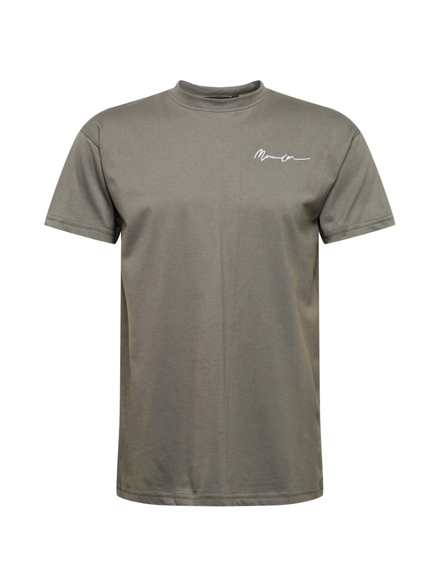Mennace Marškinėliai tamsiai pilka