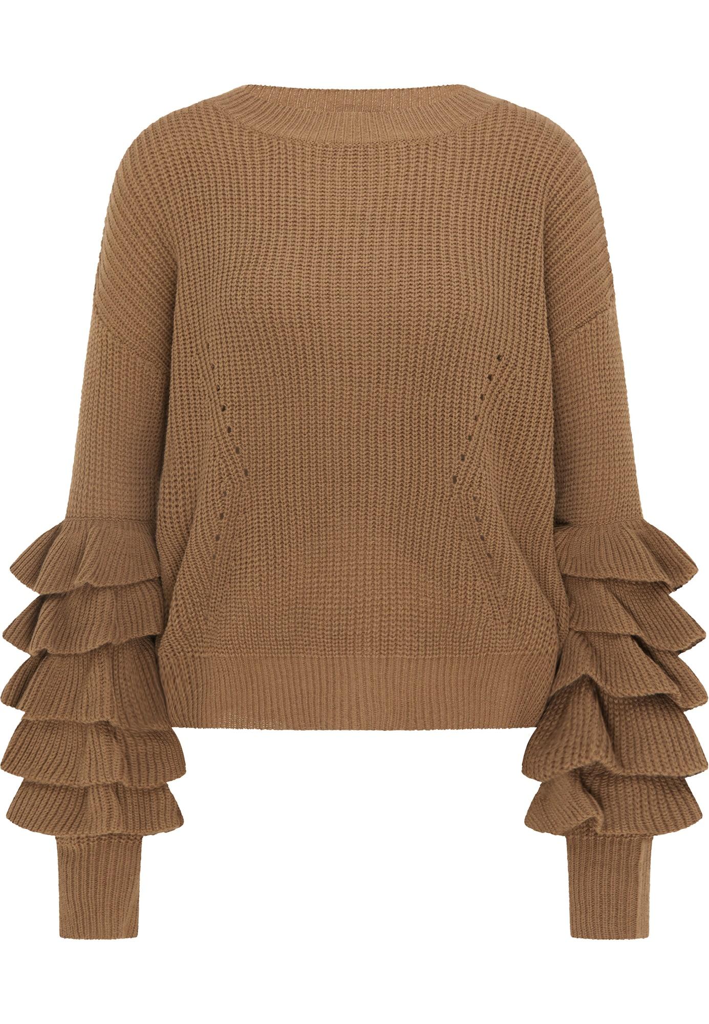 IZIA Megztinis ruda
