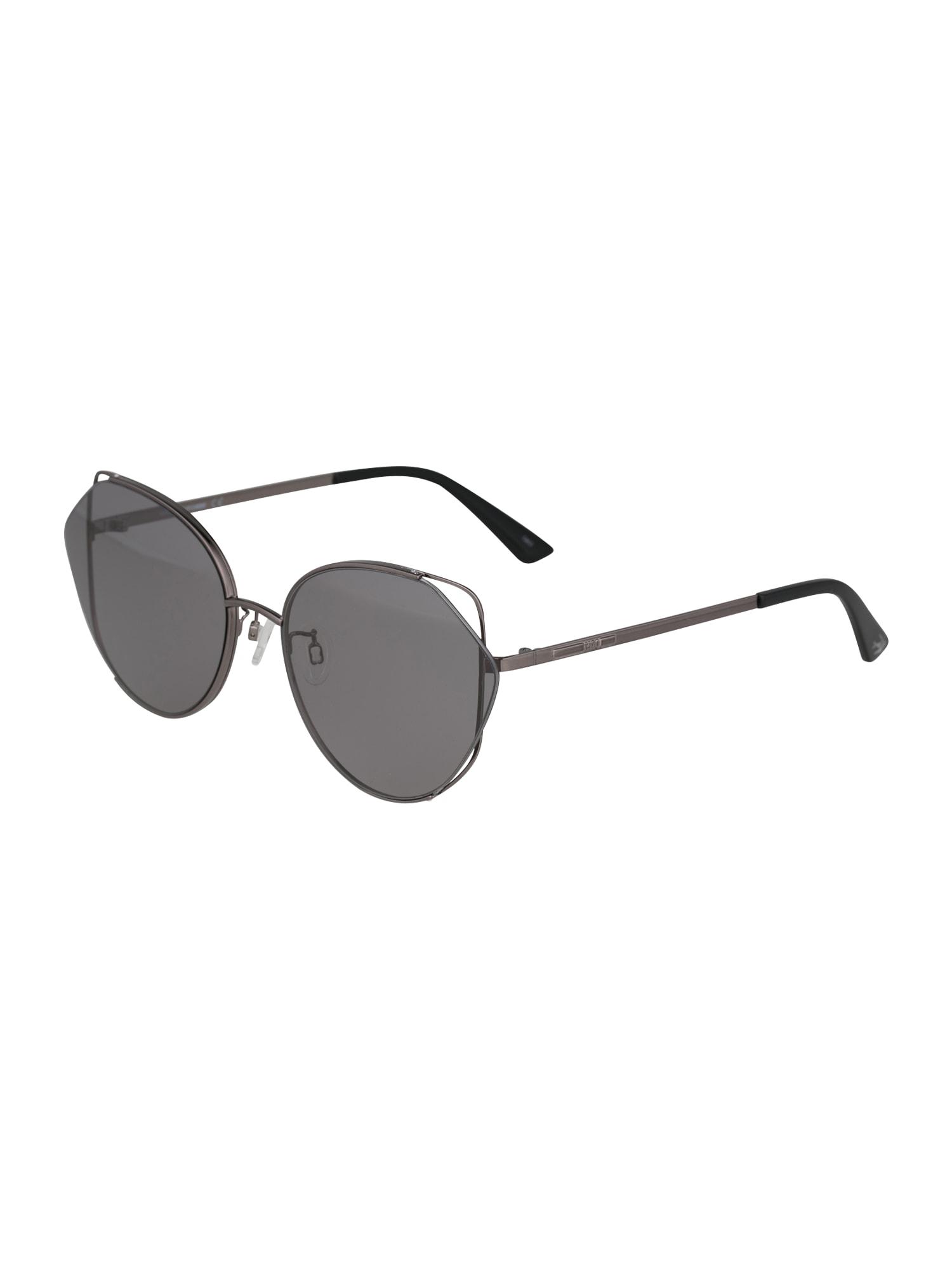 McQ Alexander McQueen Sluneční brýle 'MQ0286SA-001 63'  šedá / černá