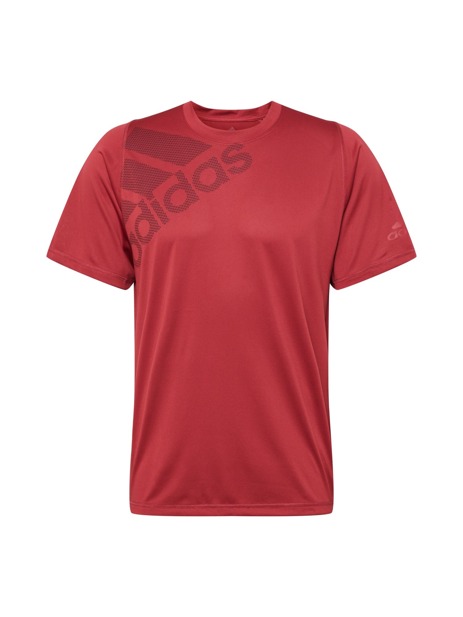 ADIDAS PERFORMANCE Funkční tričko 'BOS'  tmavě červená