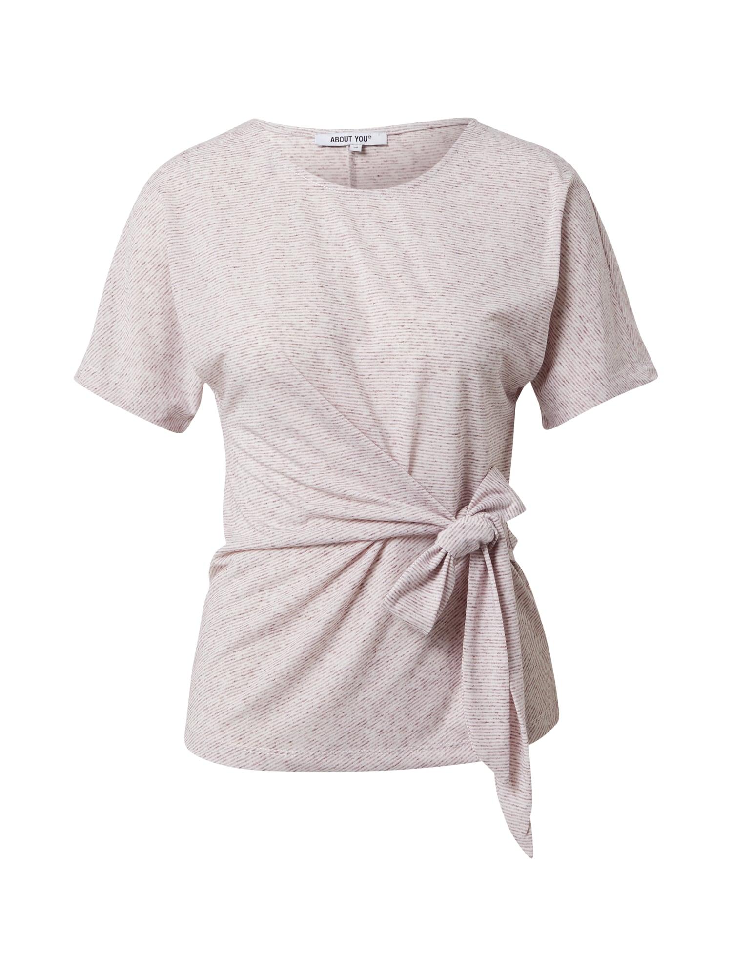 ABOUT YOU Marškinėliai 'Faline' rožių spalva