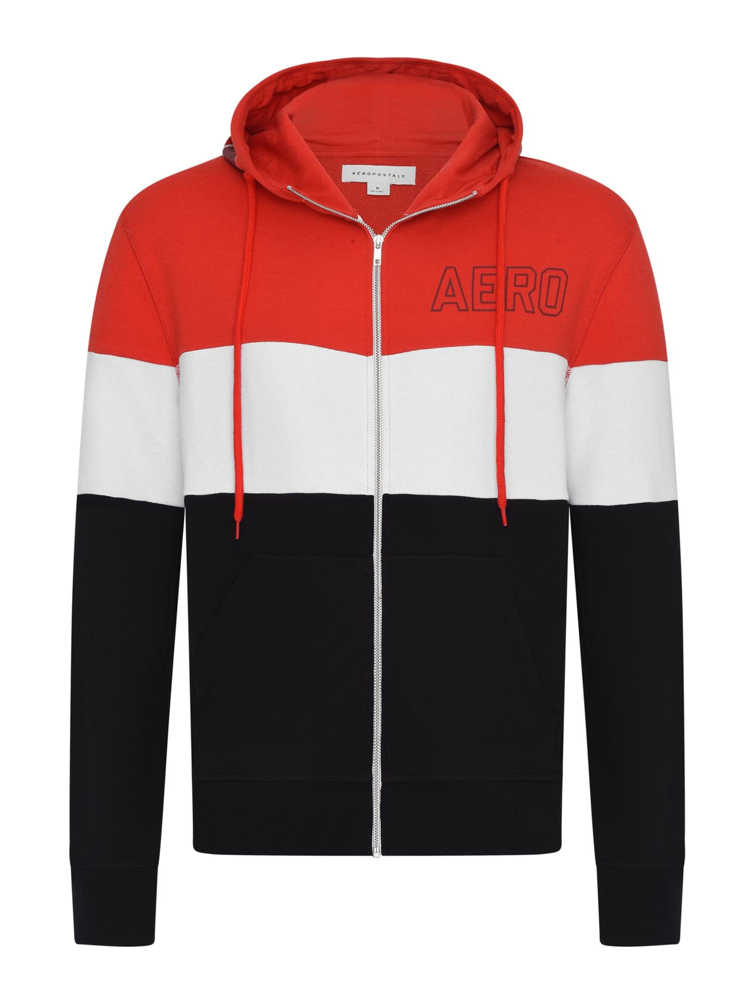 AÈROPOSTALE Džemperis juoda / raudona / balta